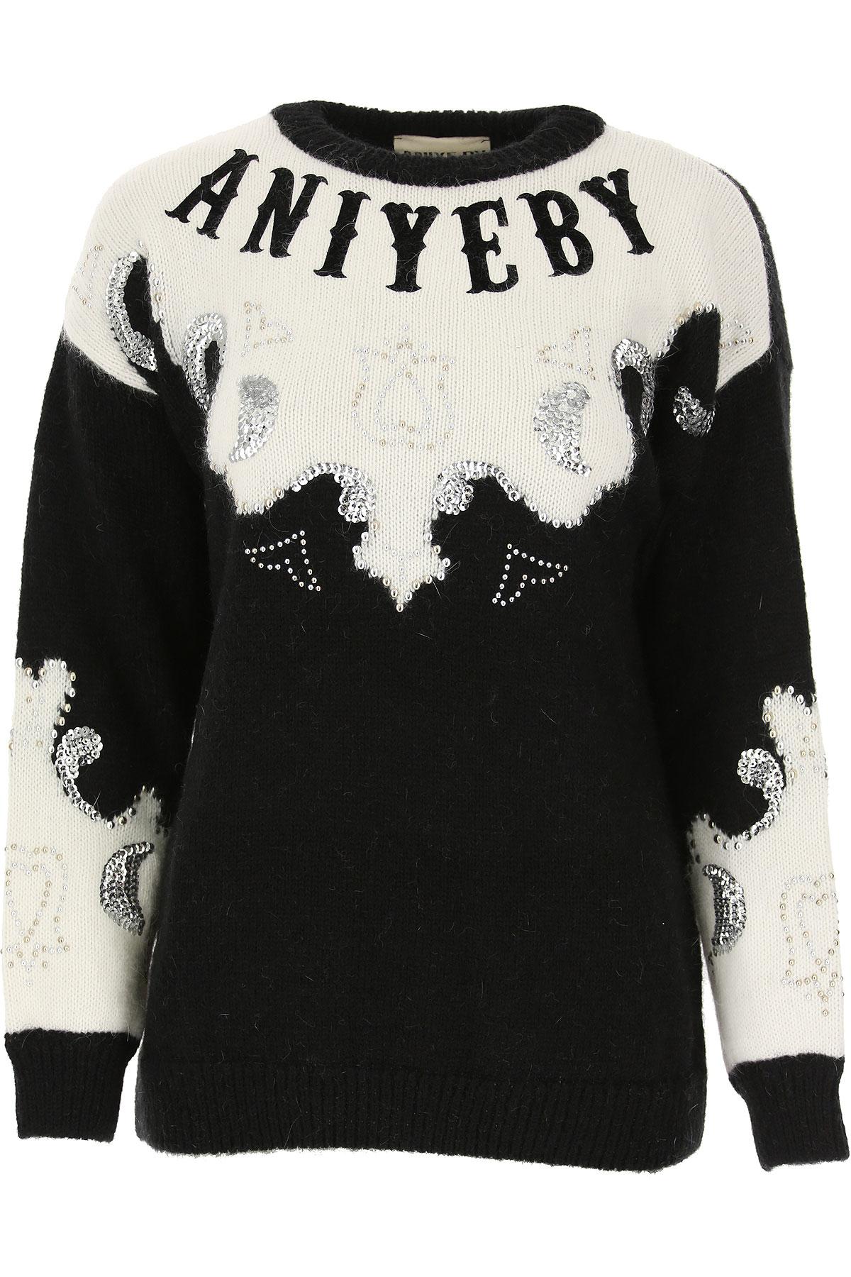 Aniye By Sweater for Women Jumper On Sale, Black, Acrylic, 2019, 2 4 6