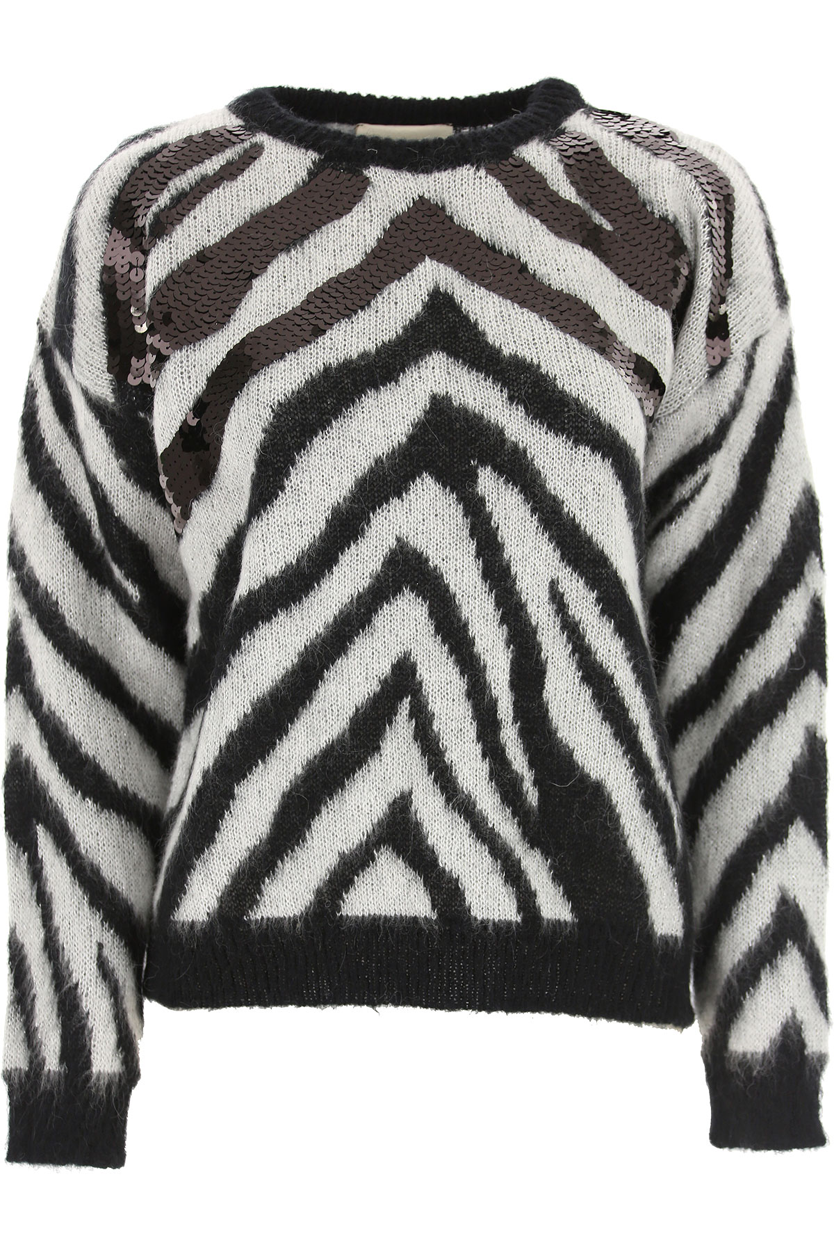 Aniye By Sweater for Women Jumper On Sale, Grey, Acrylic, 2019, 4 6