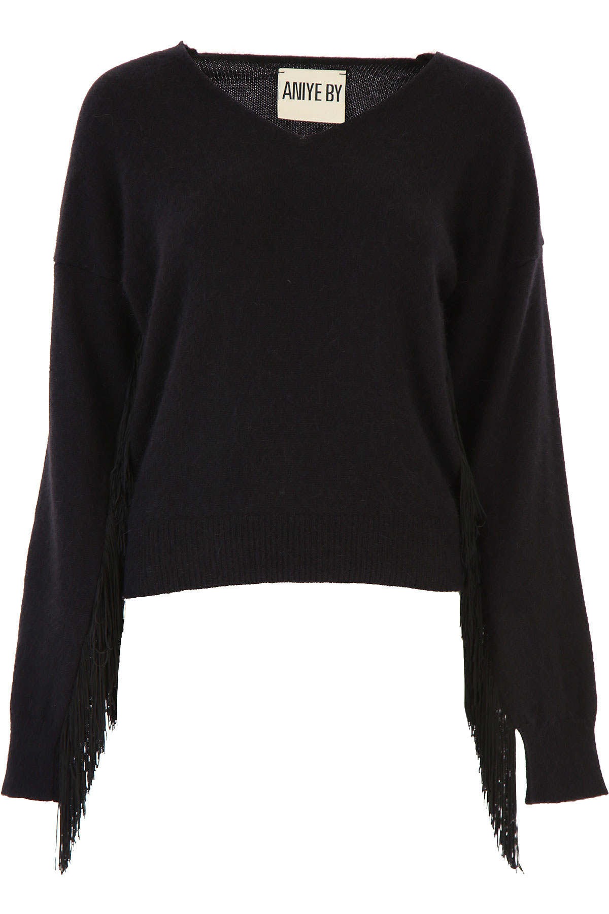 Aniye By Sweater for Women Jumper On Sale, Black, Angora, 2019, 4 6