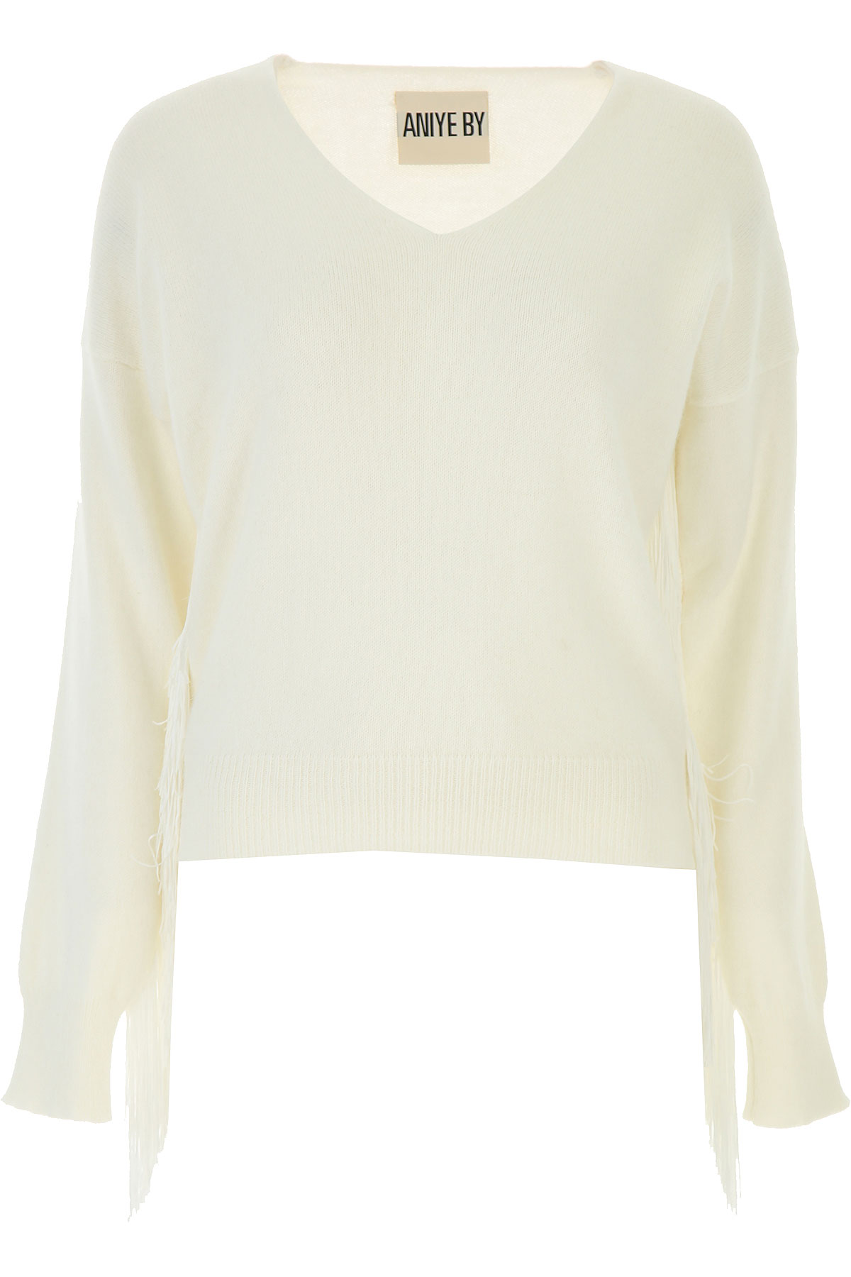 Aniye By Sweater for Women Jumper On Sale, Cream White, Angora, 2019, 2 4 6