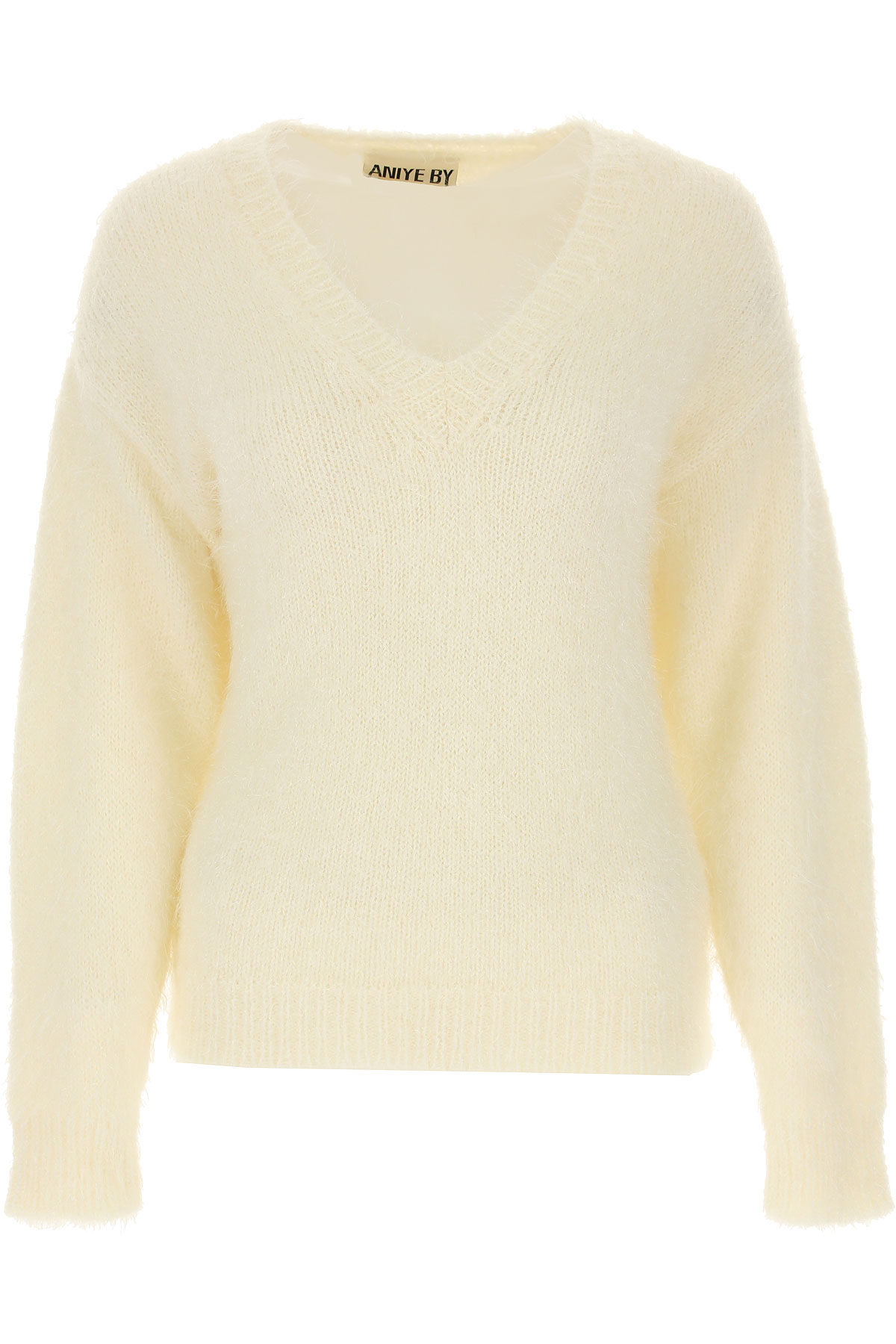 Aniye By Sweater for Women Jumper On Sale, White, Acrylic, 2019, 2 6