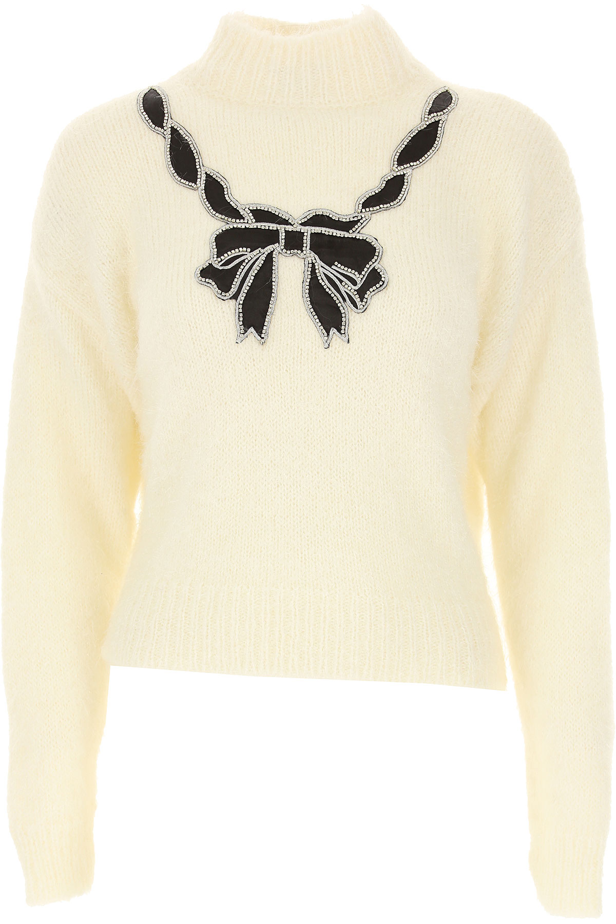 Aniye By Sweater for Women Jumper On Sale, White, Acrylic, 2019, 4 6