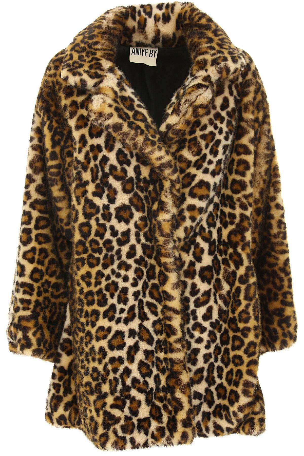 Image of Aniye By Women\'s Coat, Leopard, modacrylic, 2017, 4 6