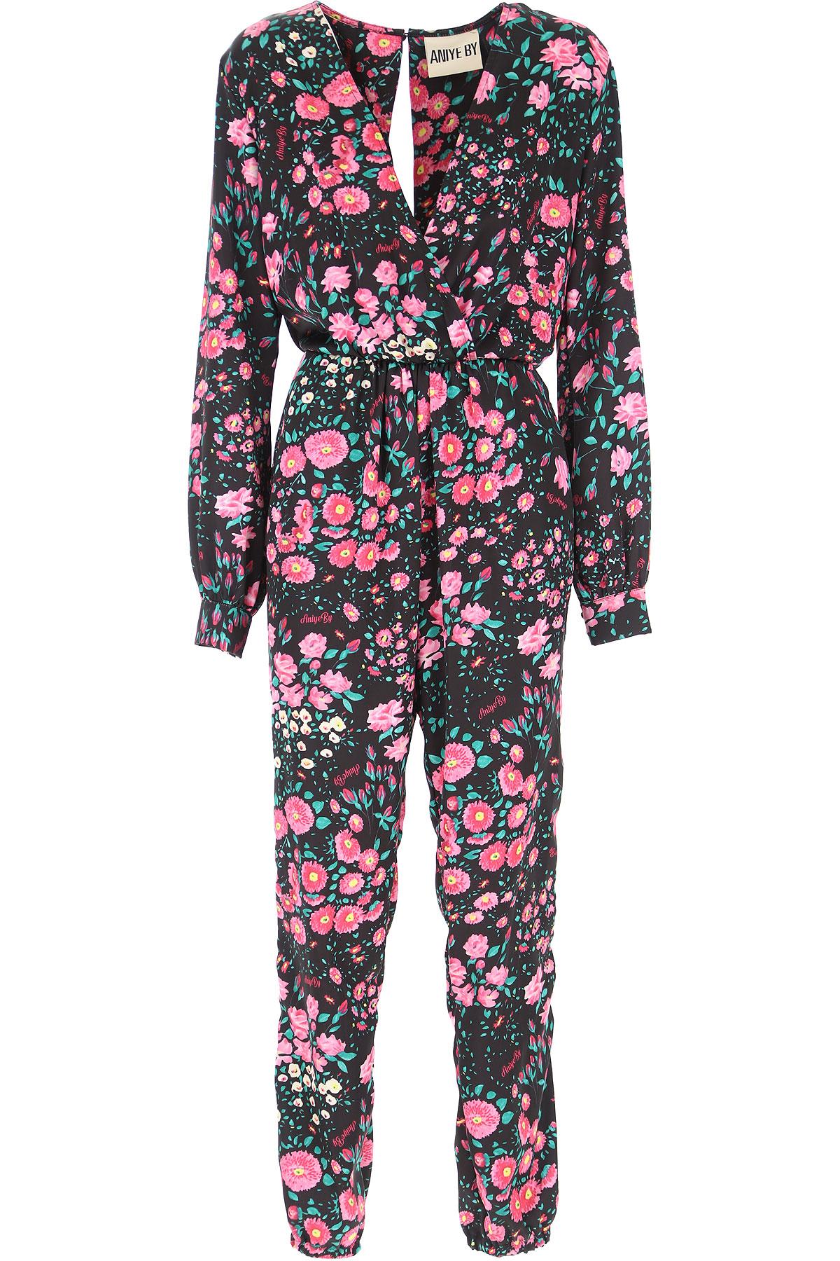 Aniye By Dress moterims, Evening Cocktail Party, juodi, polyestere, 2019, 38 40