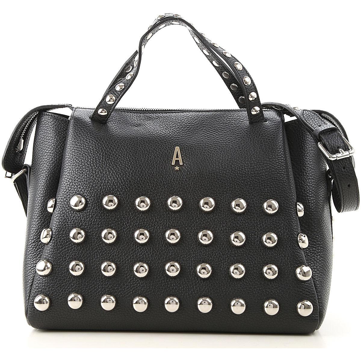 Aniye By Shoulder Bag for Women On Sale, Black, Leather, 2019