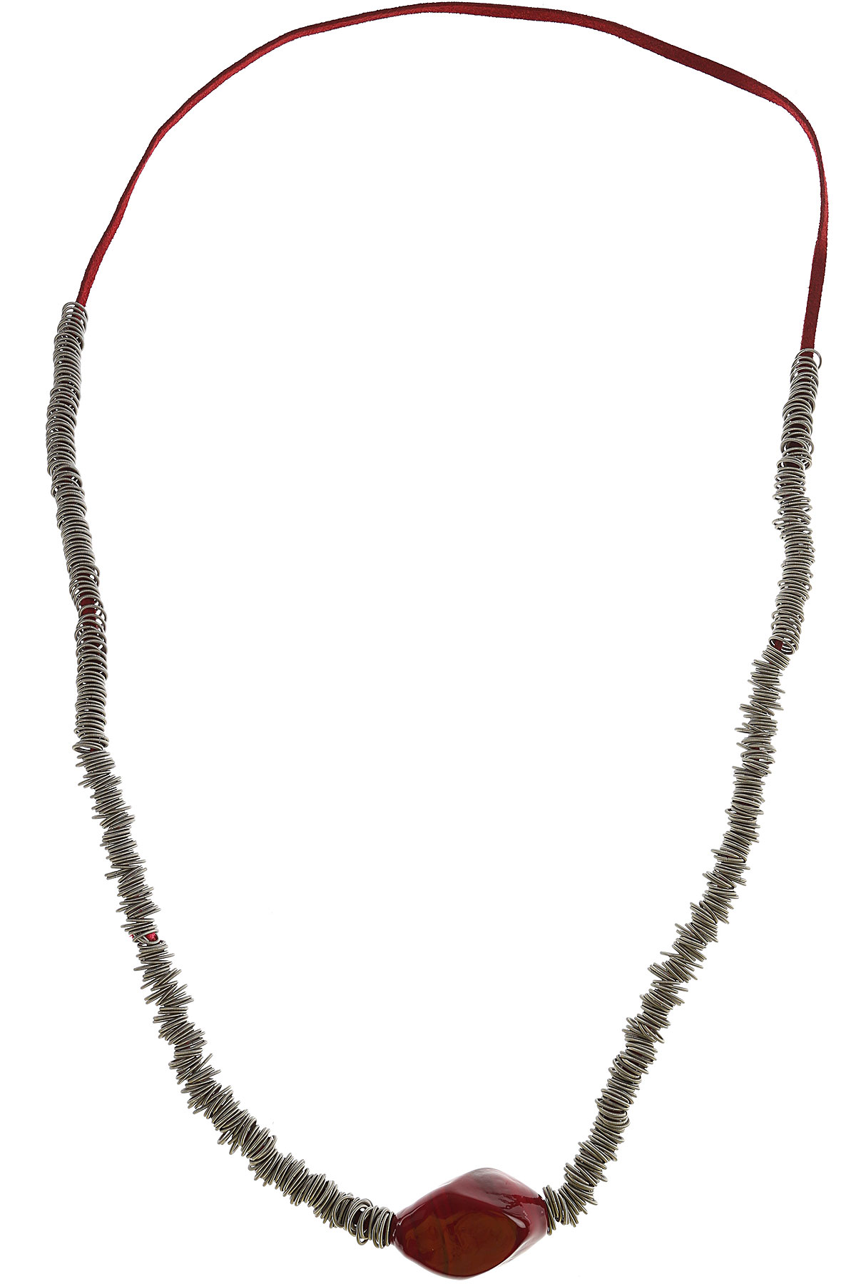 Image of Antares Venezia Necklaces, Red, Stainless Steel, 2017