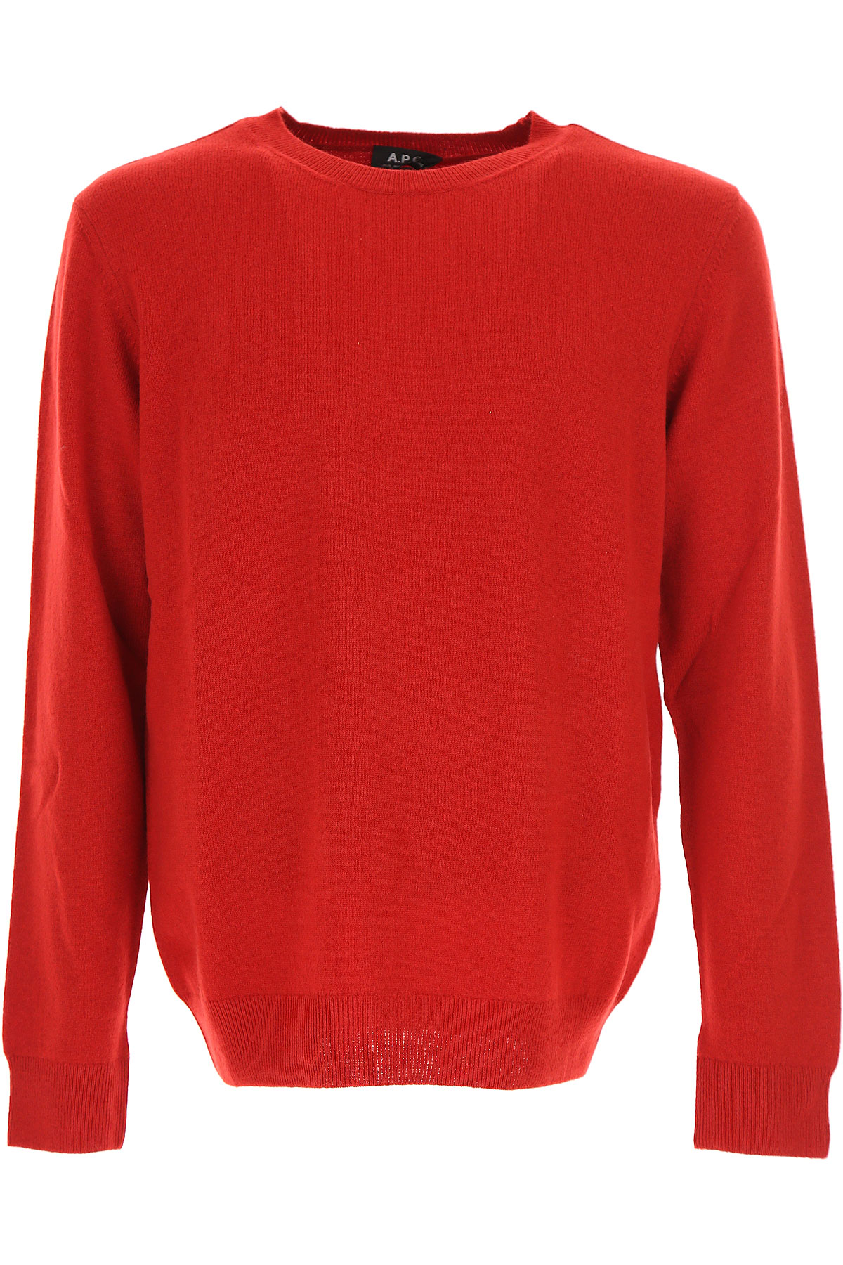 Image of A.P.C Sweater for Men Jumper, Red, Wool, 2017, L M XL