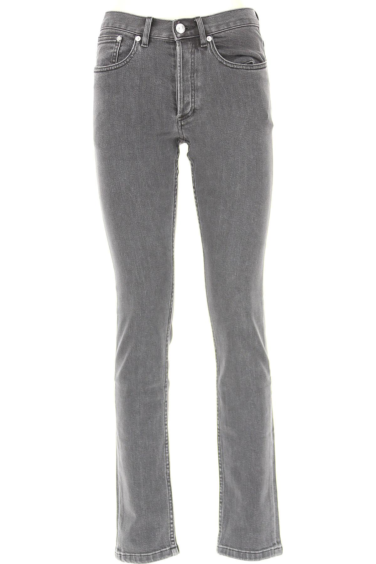 Image of A.P.C Jeans, Black Denim, Cotton, 2017, 26 27 28 29 30