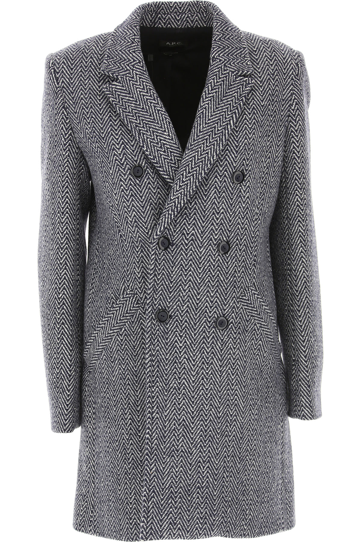 Image of A.P.C Jacket for Women, Grey, Wool, 2017, 4 6 8