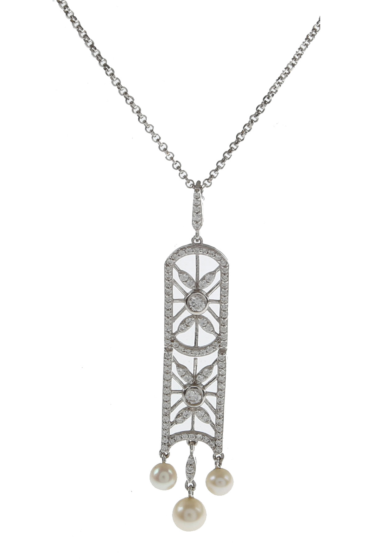 APM Monaco Necklaces On Sale, Silver, Silver 925, 2019