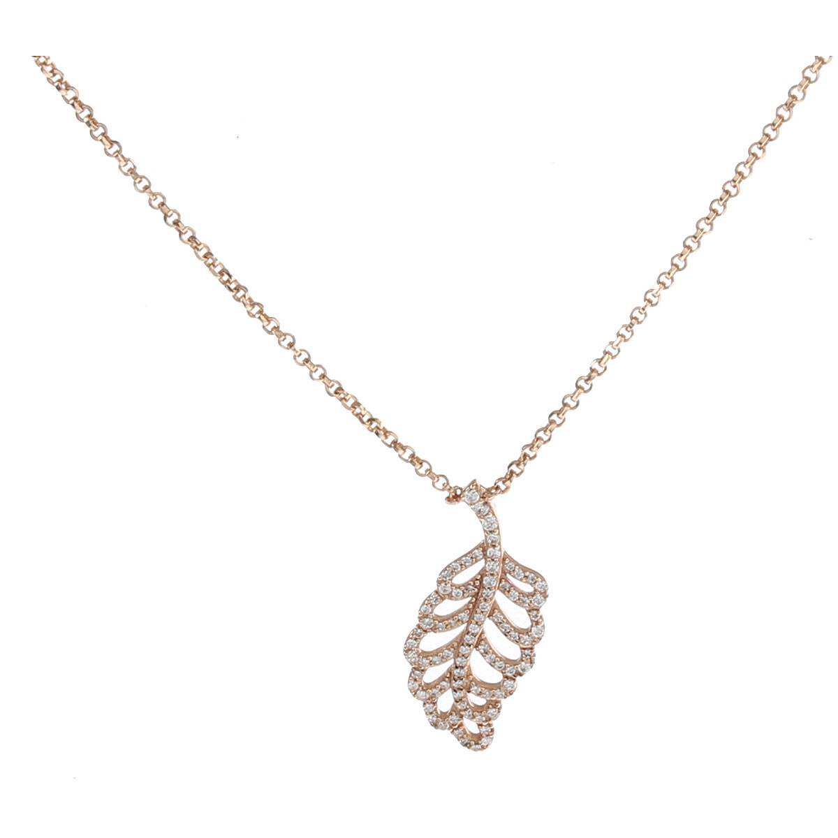 APM Monaco Necklaces On Sale, Rose Gold, Silver 925, 2019