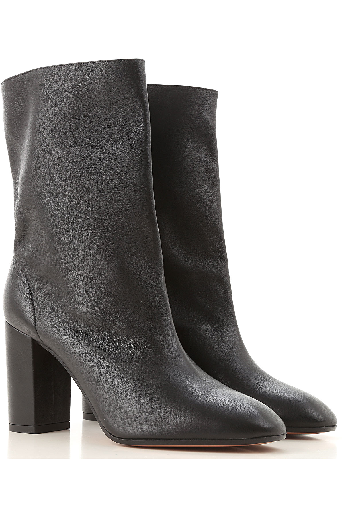 Aquazzura Boots for Women, Booties On Sale in Outlet, Black, Leather, 2019, 10 8 8.5