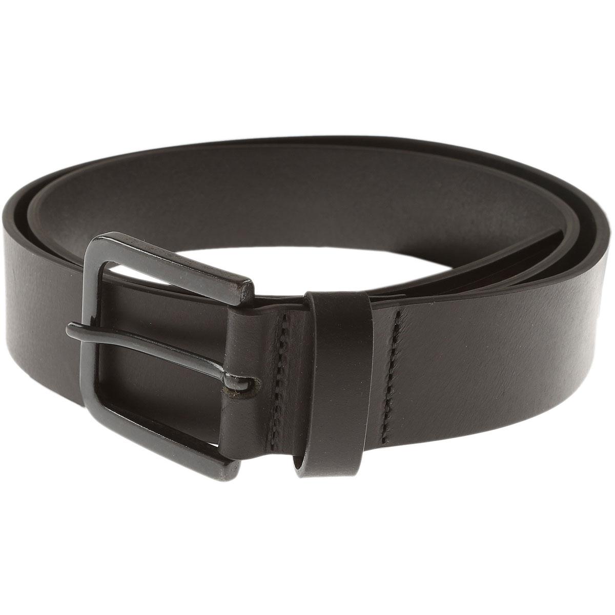 Image of Armani Jeans Belts, Black, Leather, 2017, 36 38 40 42 44