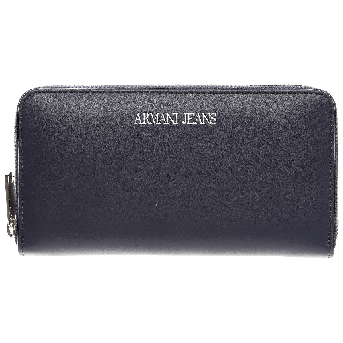Image of Armani Jeans Wallet for Women On Sale, Midnight Blue, Leather, 2017