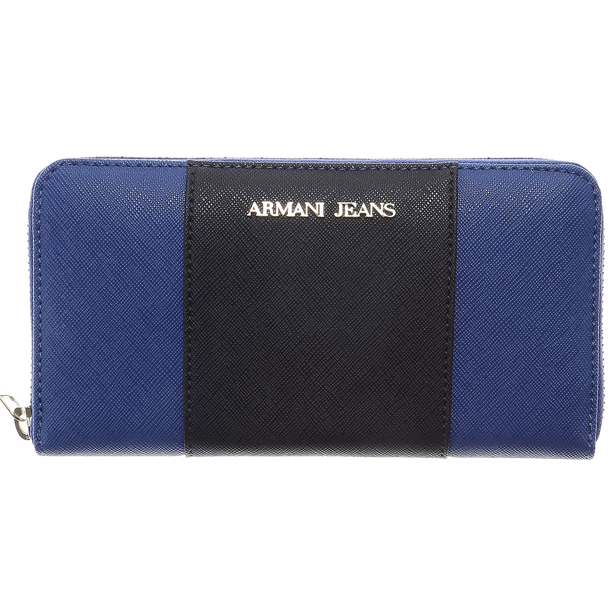 Image of Armani Jeans Wallet for Women On Sale, Bluette, Leather, 2017