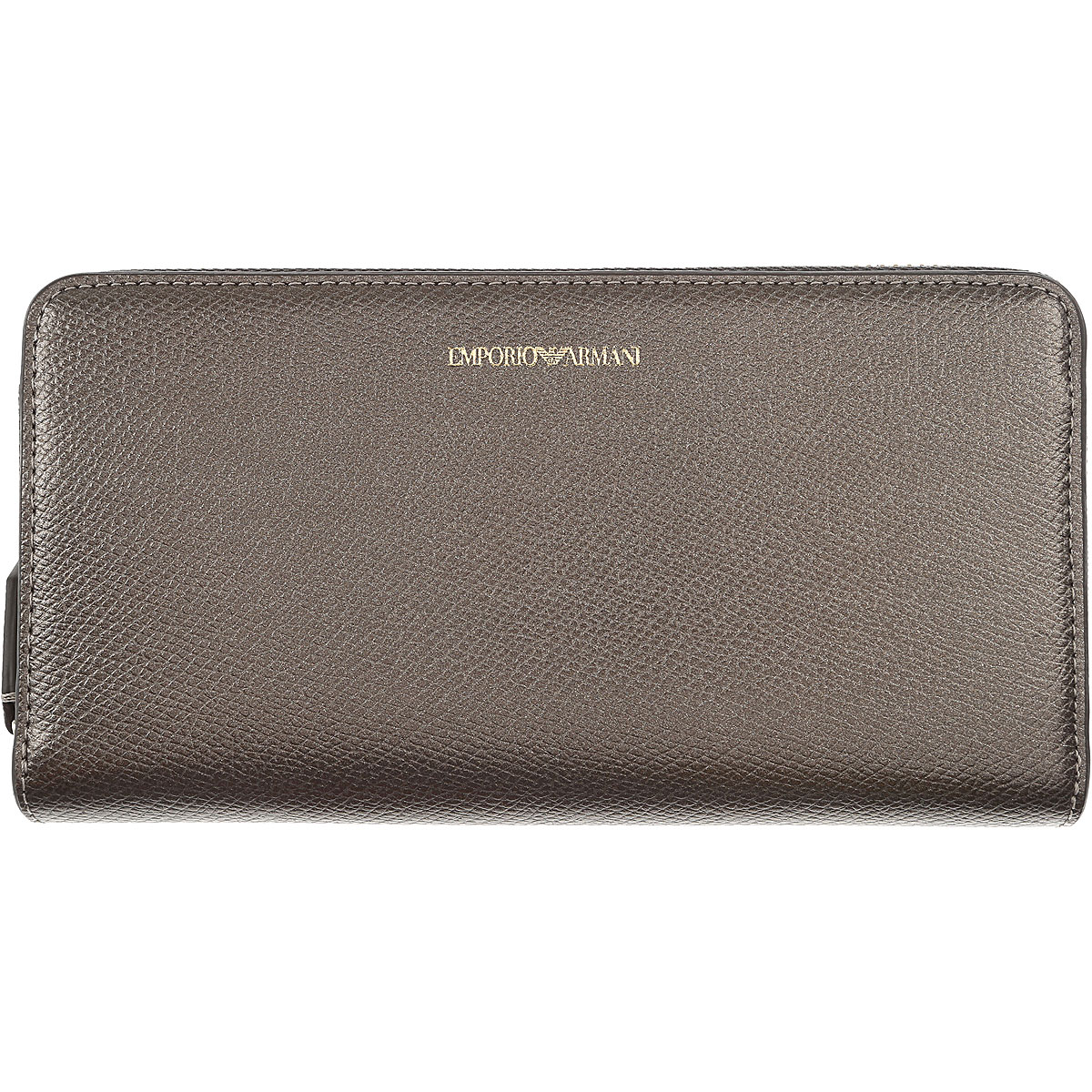 Image of Armani Jeans Wallet for Women, Dark Brown, Leather, 2017