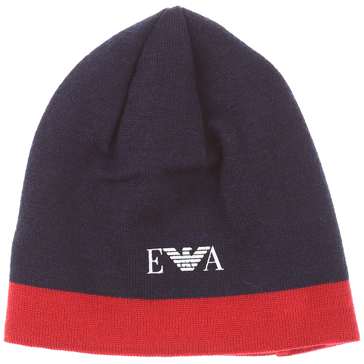 Emporio Armani Baby Hats for Boys On Sale, Blue, Wool, 2019, M S