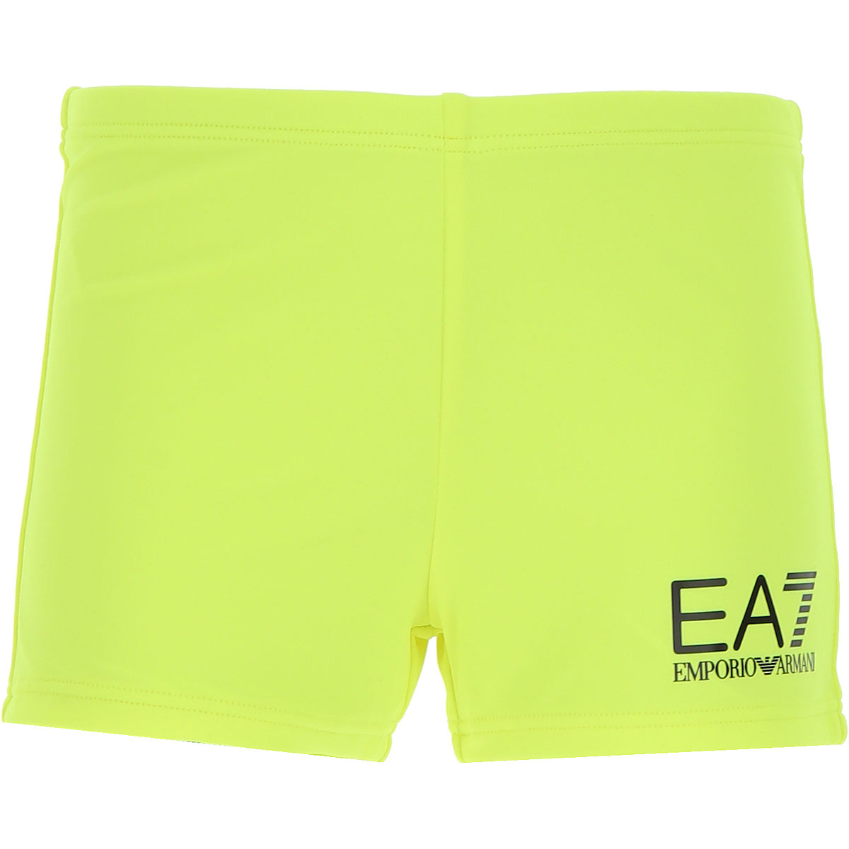 Image of Emporio Armani Swimwear On Sale, fluo yellow, polyester, 2017, 10Y 6Y