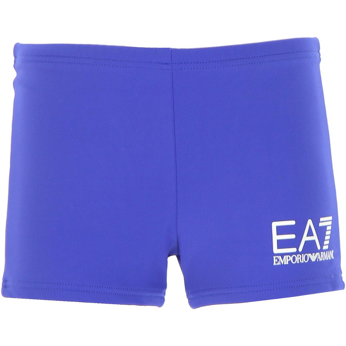 Image of Emporio Armani Swimwear On Sale, Blue, polyamide, 2017, 4Y 6Y 8Y