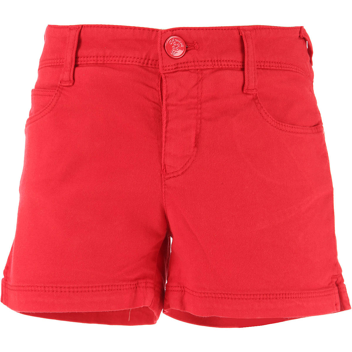 Image of Emporio Armani Kids Shorts for Girls On Sale in Outlet, Red, Modal, 2017, 13Y 15Y 16Y 9Y