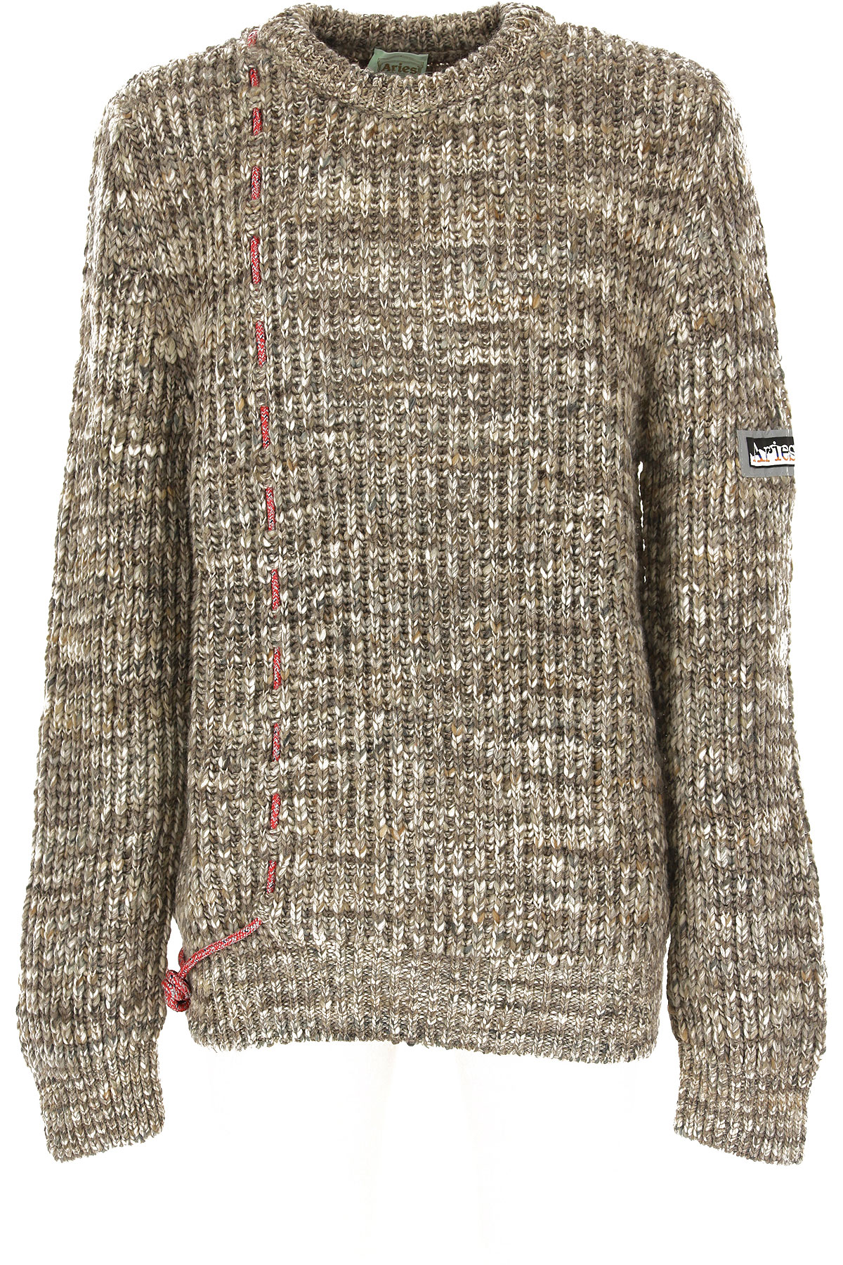 Aries Sweater for Men Jumper On Sale, Grey Ice, Acrylic, 2019, L M