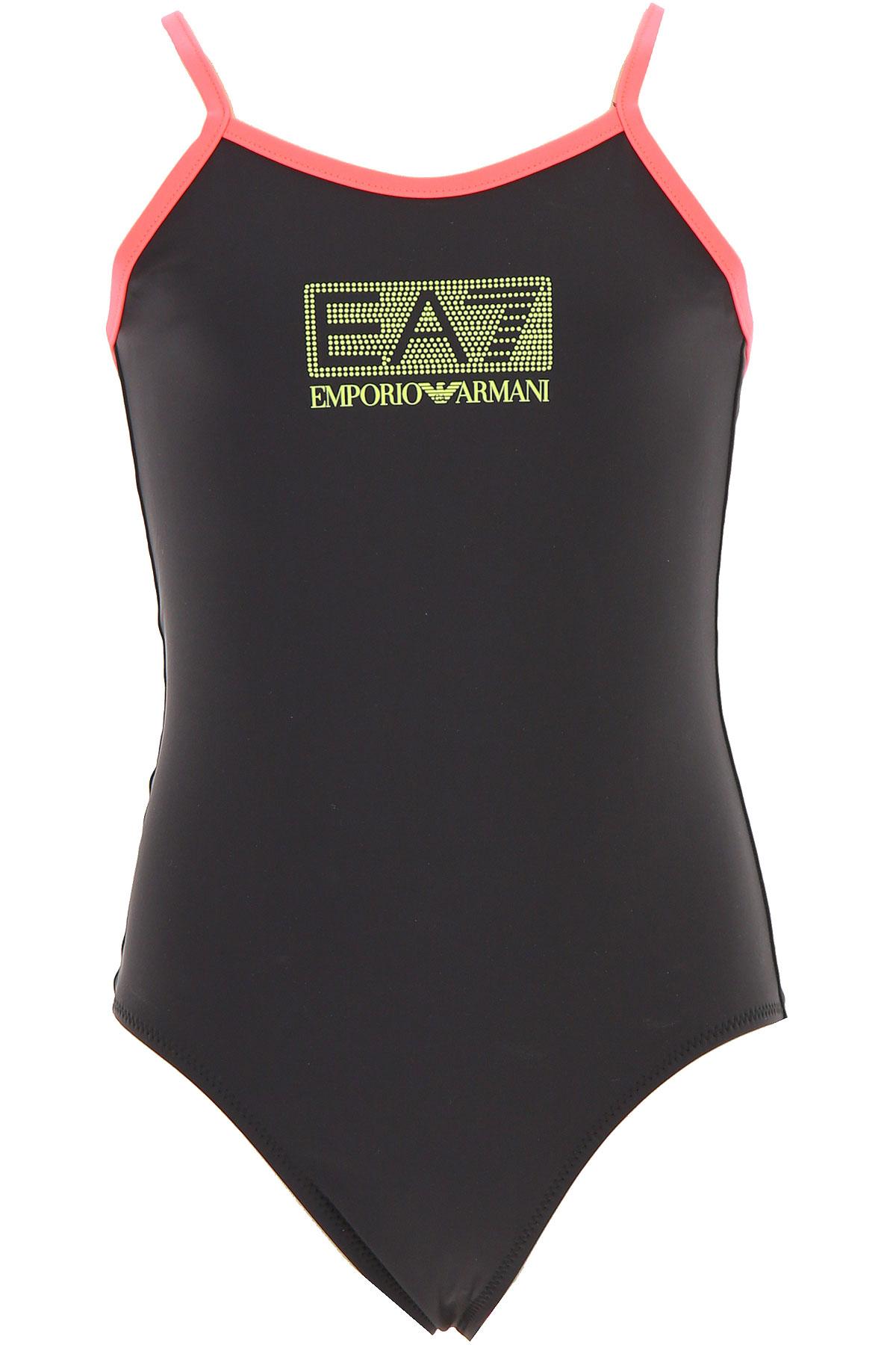 Image of Emporio Armani Swimwear On Sale, Black, polyamide, 2017, 10Y 14Y 4Y 6Y 8Y