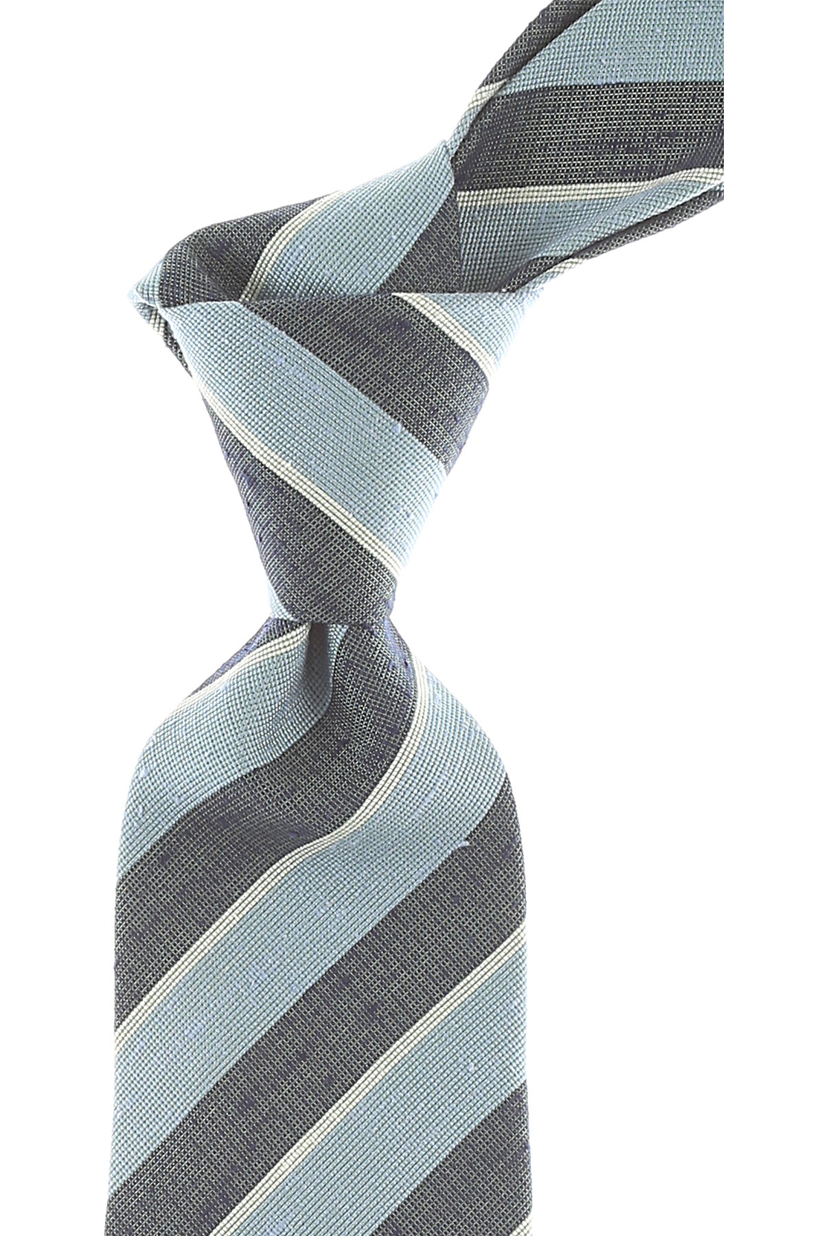 Giorgio_Armani_Ties_On_Sale_Light_Sky_Blue_Melange_Silk_2019