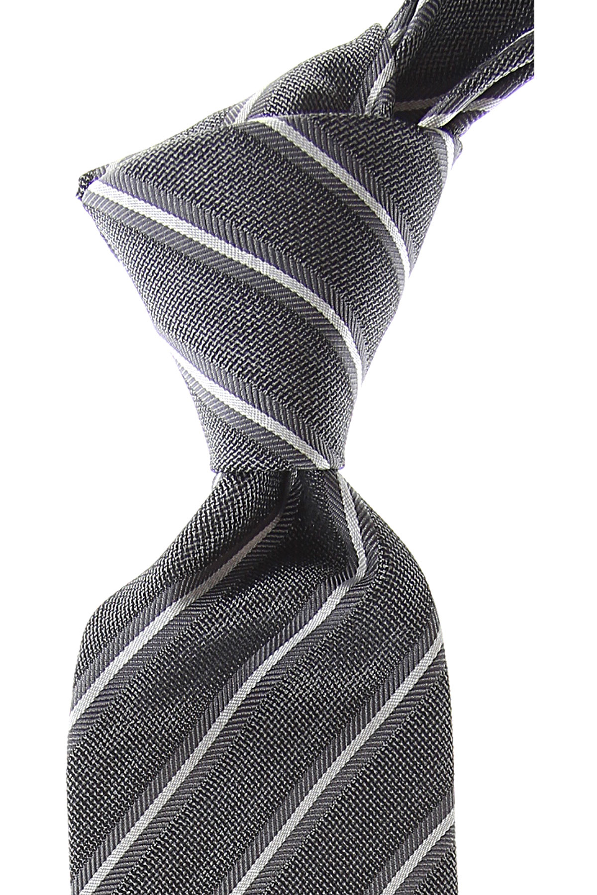 Giorgio_Armani_Ties_On_Sale_Metallic_Grey_Silk_2019