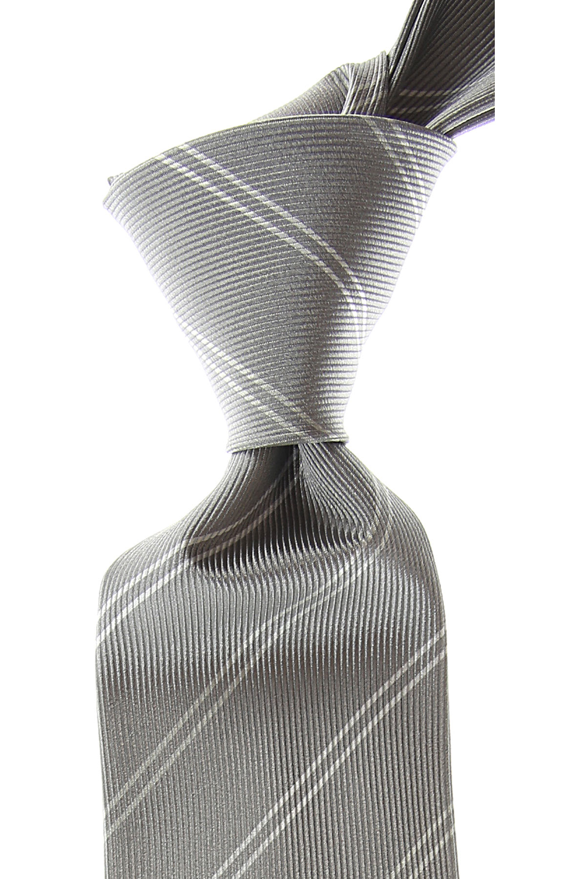 Giorgio_Armani_Ties_On_Sale_Light_Silver_Grey_Silk_2019