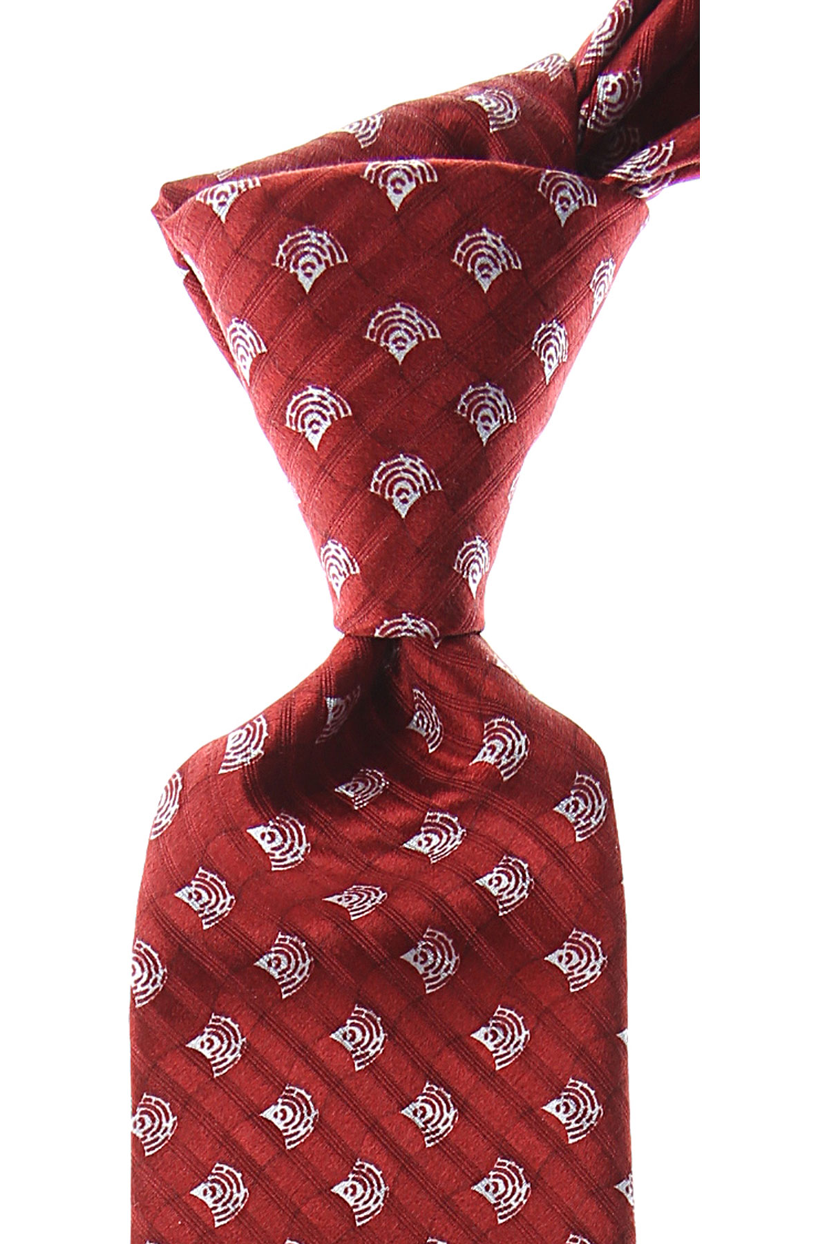 Giorgio_Armani_Ties_On_Sale_Crimson_Red_Silk_2019