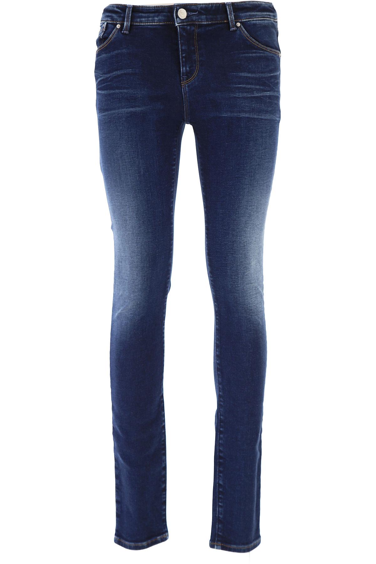 Image of Giorgio Armani Jeans On Sale, Denim, Cotton, 2017, 26 27 28 29 30 31 33