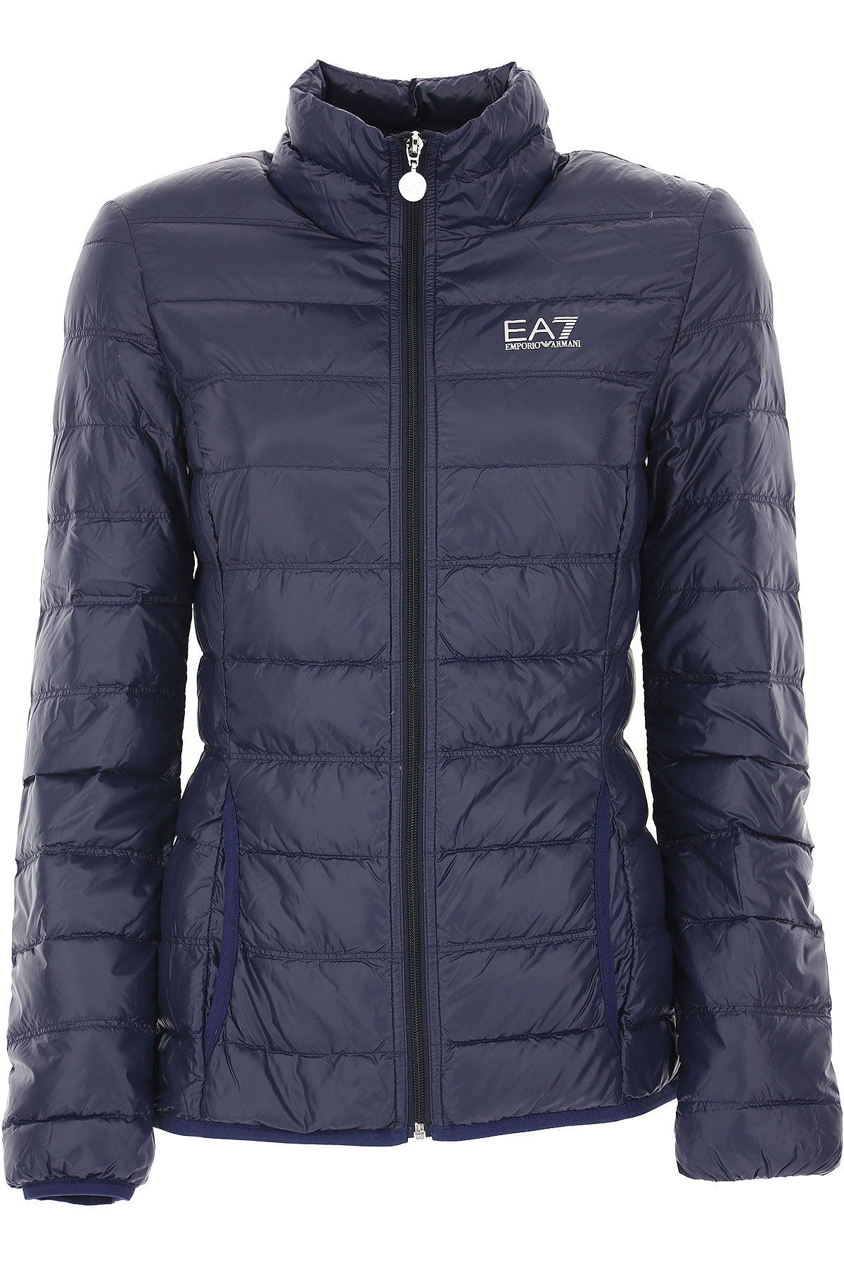 Image of Giorgio Armani Jacket for Women, Ultralight 100 Gr Jacket, Blue, polyamide, 2017, 10 8