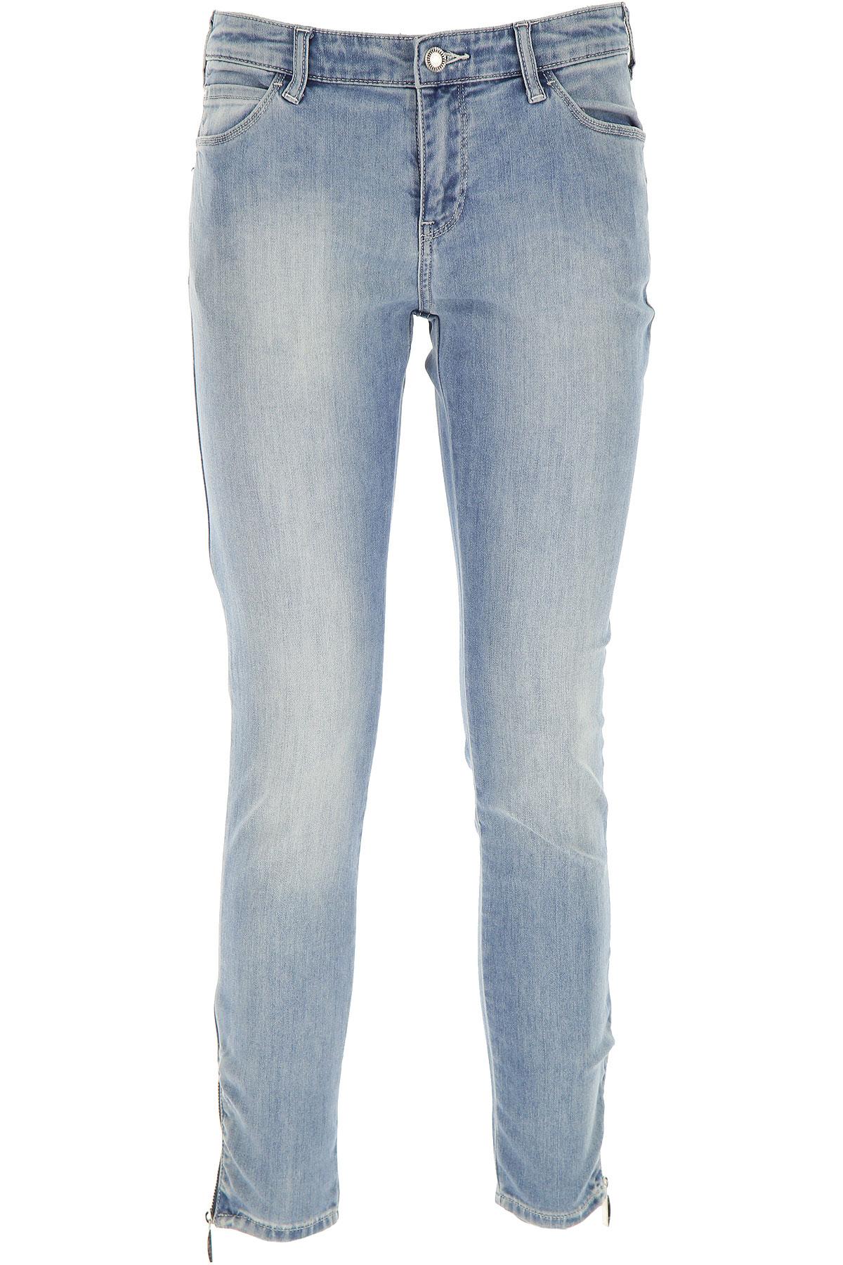 Giorgio Armani Jeans On Sale in Outlet, Light Blue Denim, Cotton, 2019, 27 30