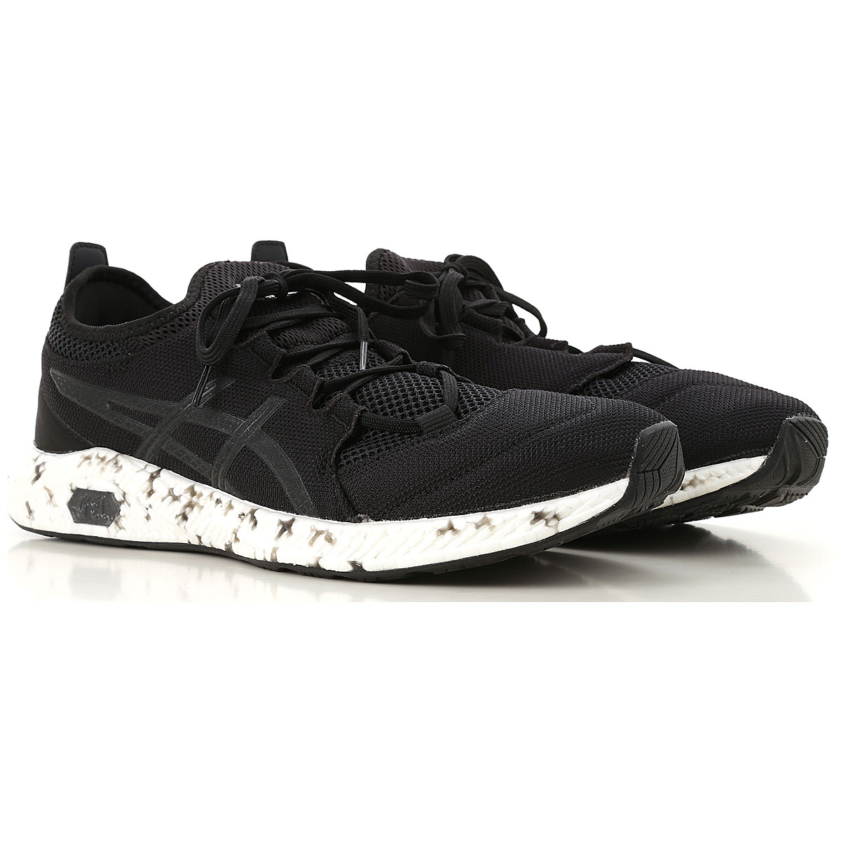 Image of Asics Sneakers for Men, Black, Textile, 2017, US 7 - EU 40 US 7.5 - EU 40.5 US 8 - EU 41.5 US 8.5 - EU 42.5 US 9 - EU 42.5 US 9.5 - EU 43.5 US 10 - EU 44