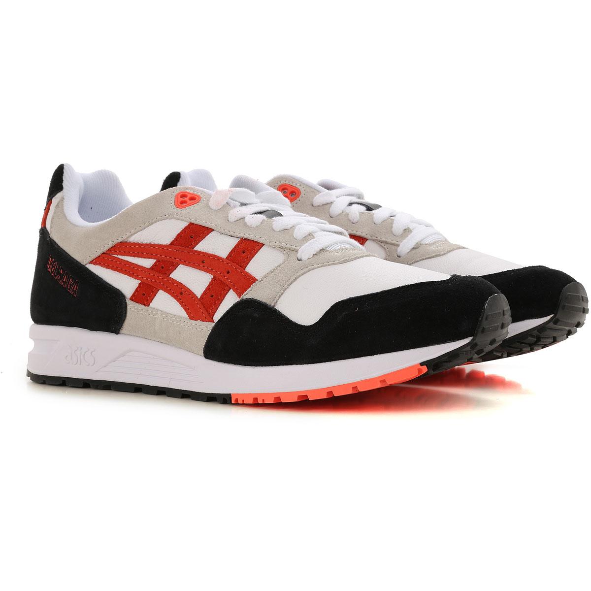 Image of Asics Sneakers for Men, White, Leather, 2017, EUR 41 - US 7 5 US 10 5 - UK 9 5 - EU 44 - JP 28 EUR 40.5 - US 7.5 - UK 6.5 EUR 43 - UK 9 - USA 9.5 UK 10 - EUR 44 - US 11 UK 11 - EUR 45 - US 12 EUR 42 - US 9 - UK 8