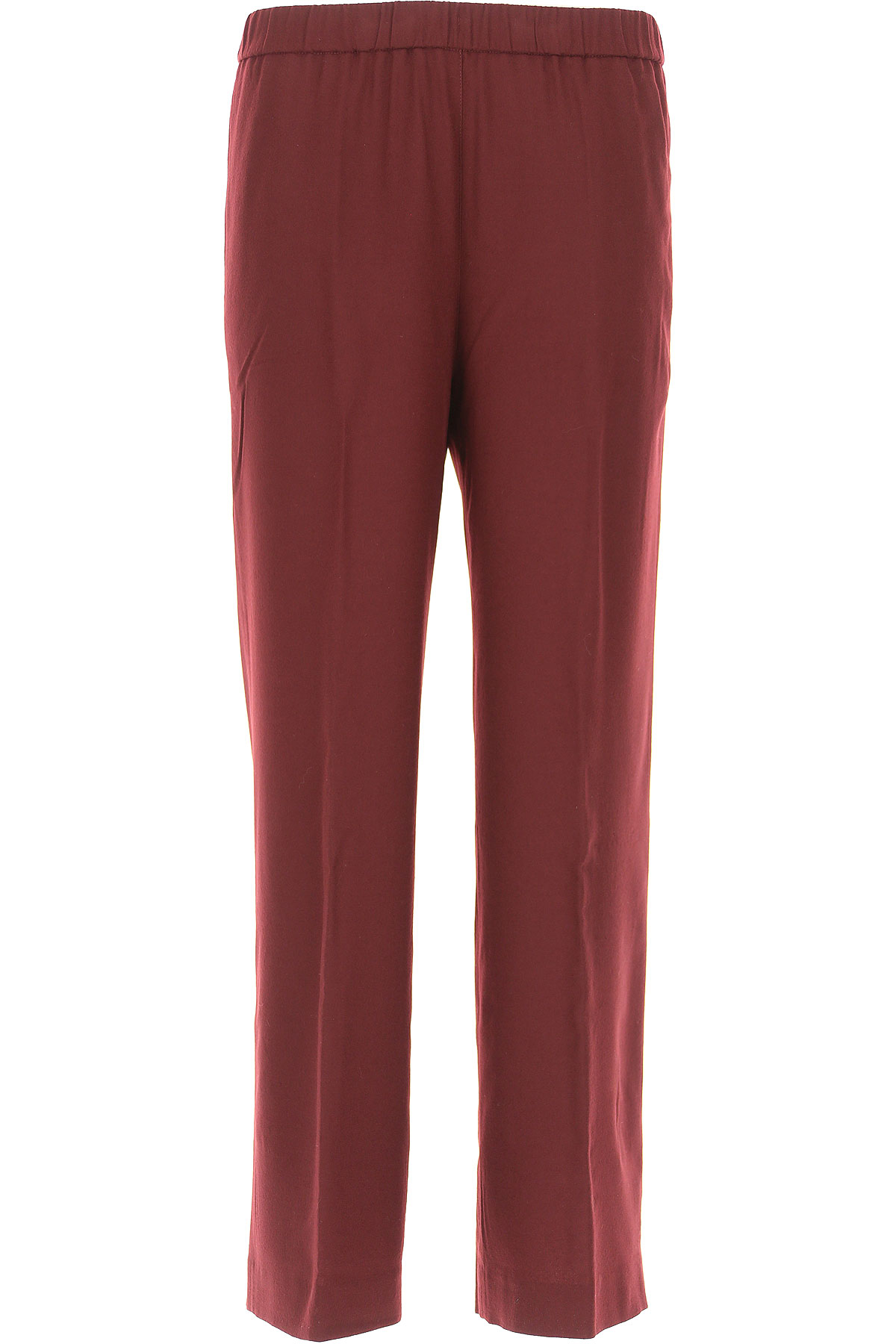 Image of Aspesi Pants for Women, Bordeaux, Wool, 2017, 26 28 32
