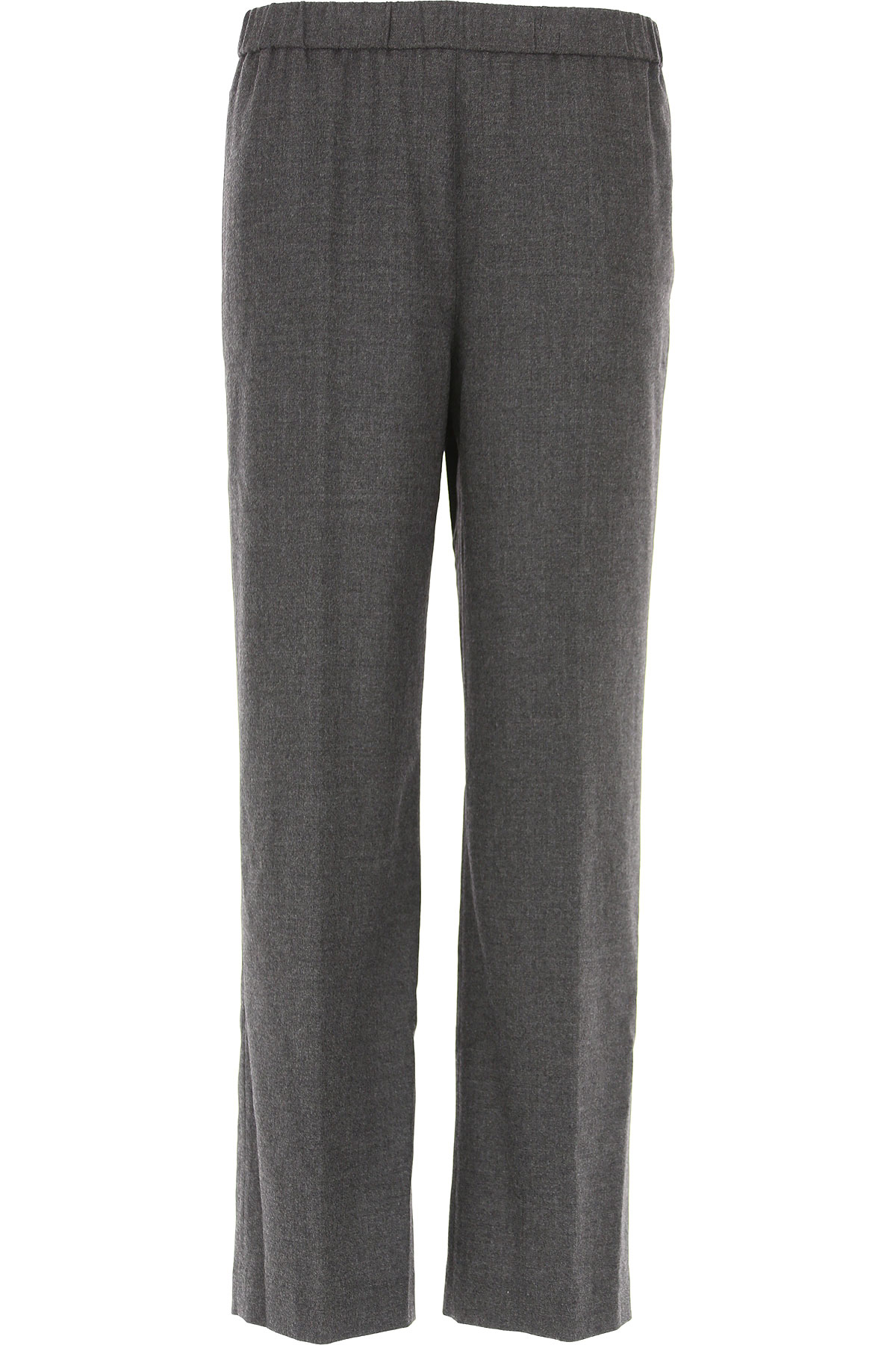 Image of Aspesi Pants for Women, antracite, Wool, 2017, 28 32