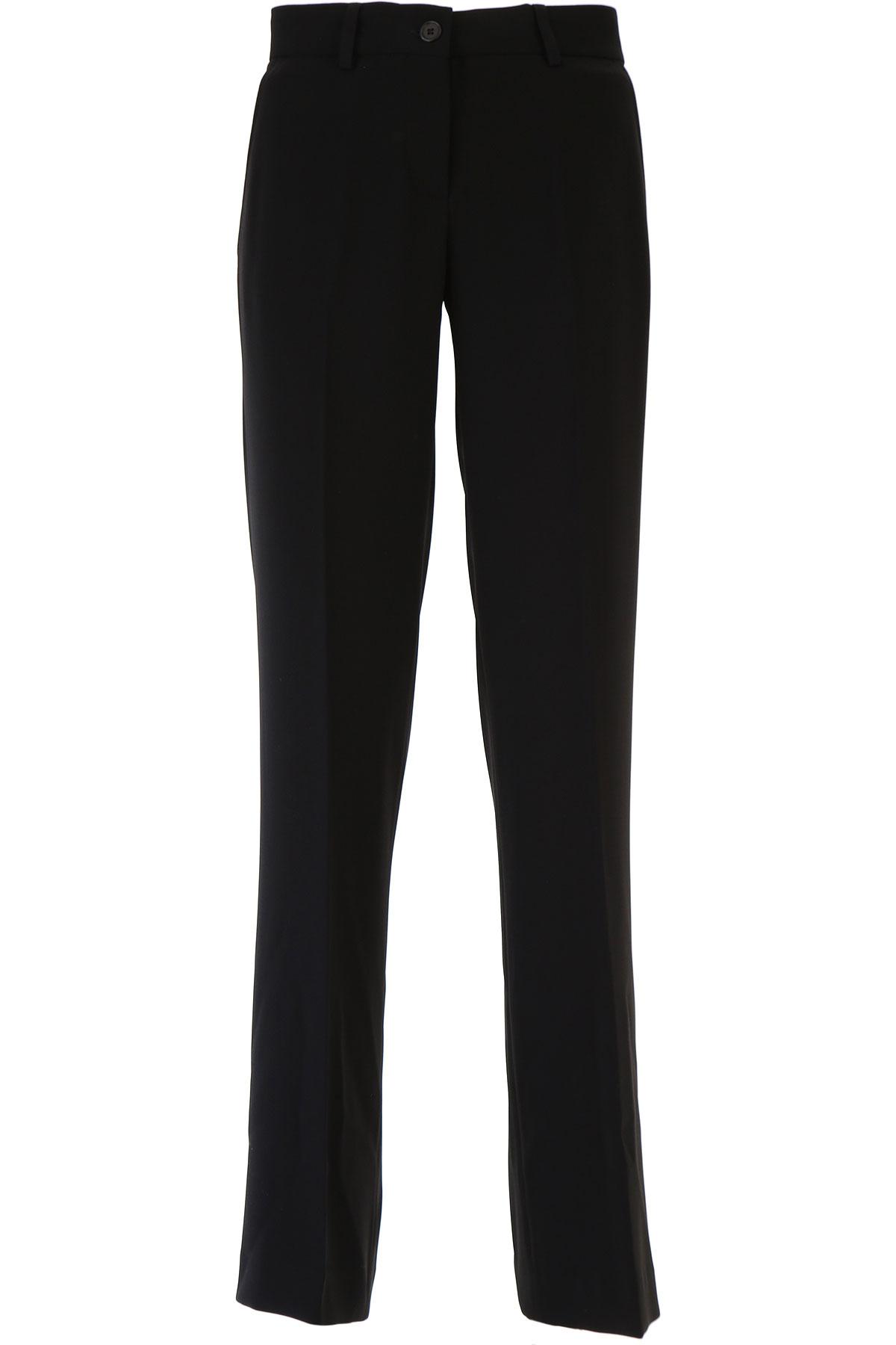Image of Aspesi Pants for Women, Black, Triacetate, 2017, 26 28 30 32