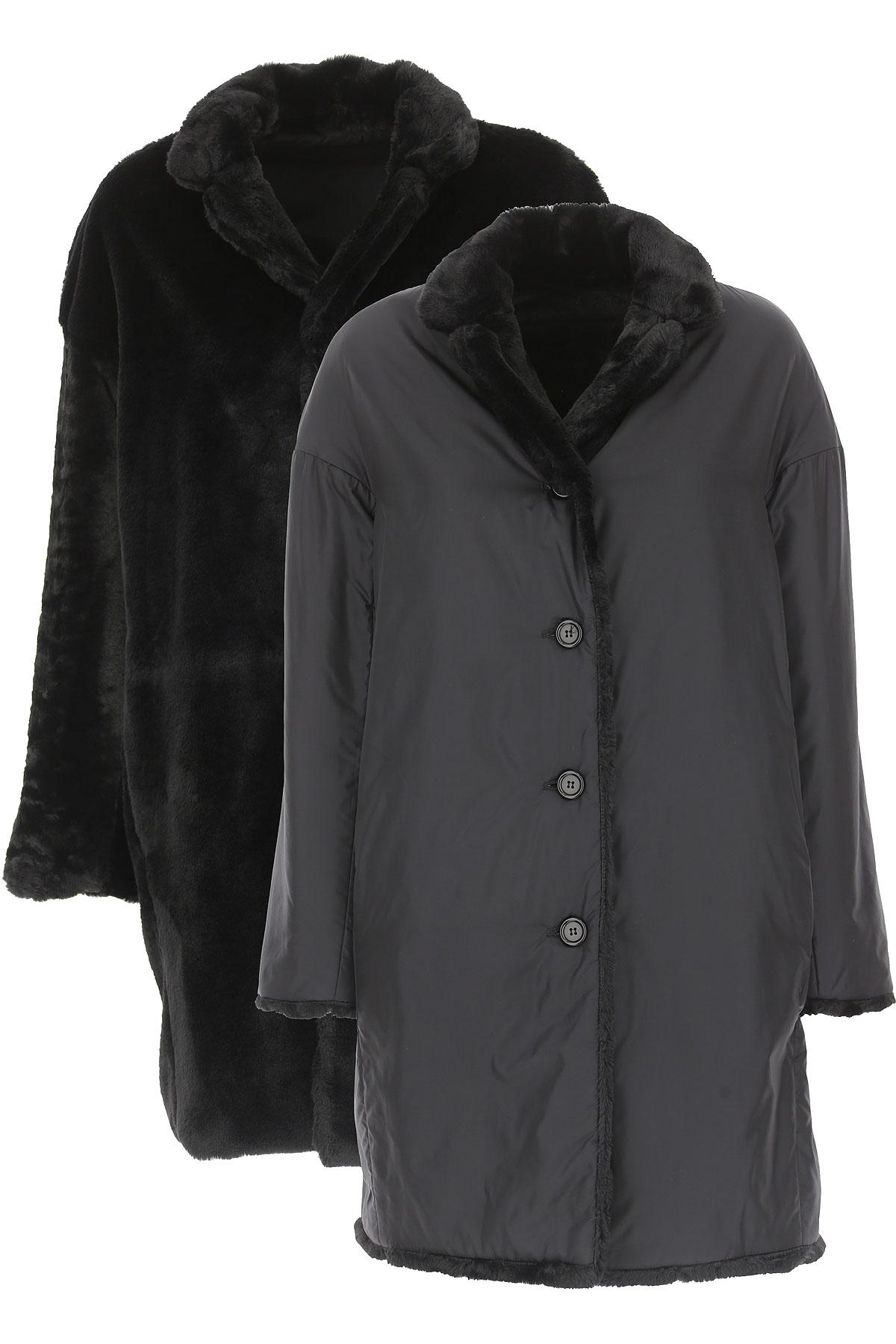 Aspesi Women's Coat On Sale, Black, polyamide, 2019, 10 4 6 8