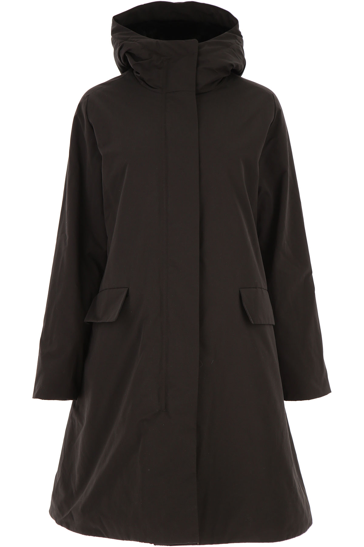 Aspesi Jacket for Women On Sale, Black, Cotton, 2019, 4 6 8