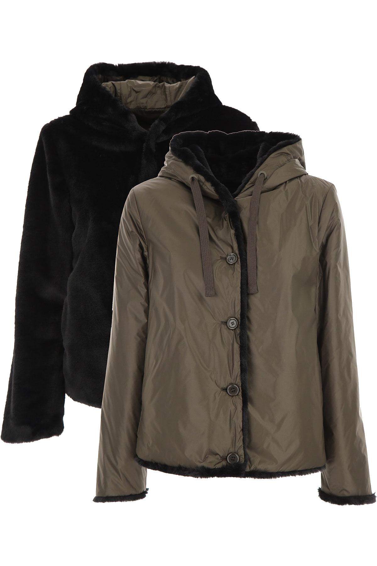 Aspesi Jacket for Women On Sale, Green Olive, polyamide, 2019, 4 8
