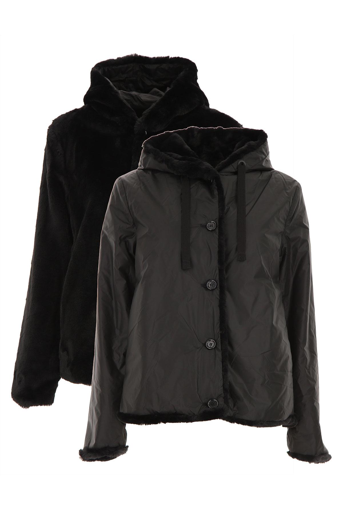 Aspesi Jacket for Women On Sale, Black, polyamide, 2019, 10 4 6 8