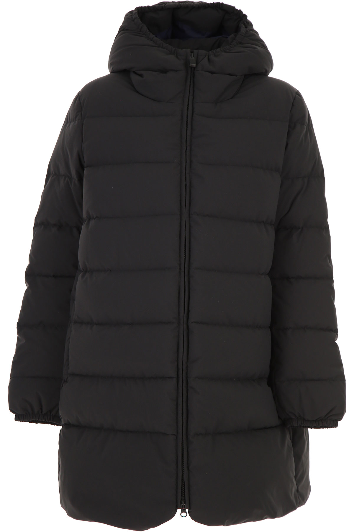 Aspesi Down Jacket for Women, Puffer Ski Jacket On Sale, Black, Nylon, 2019, 2 4 6