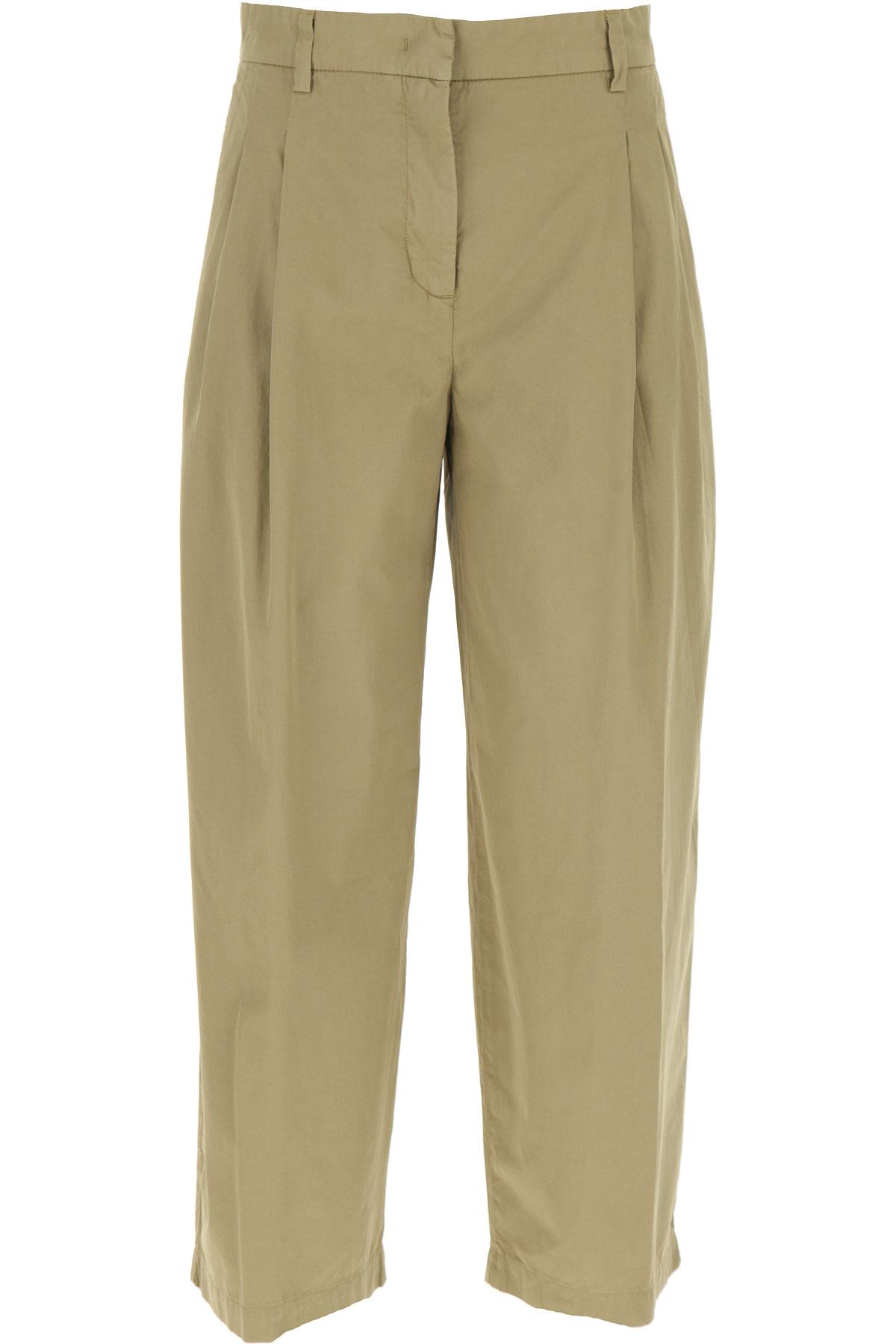 Aspesi Pants for Women On Sale, Beige, Cotton, 2019, 24 26 28