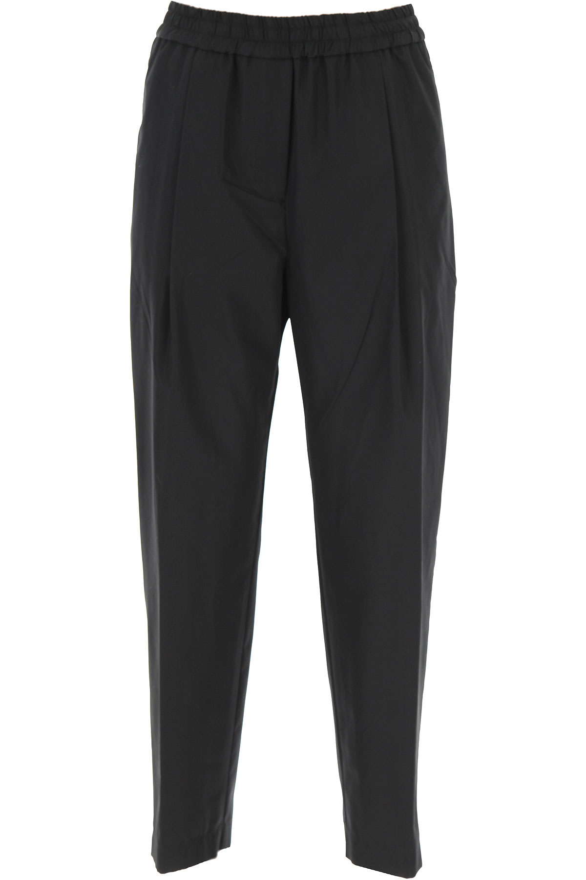 Aspesi Pants for Women On Sale, Black, Cotton, 2019, 24 26 28
