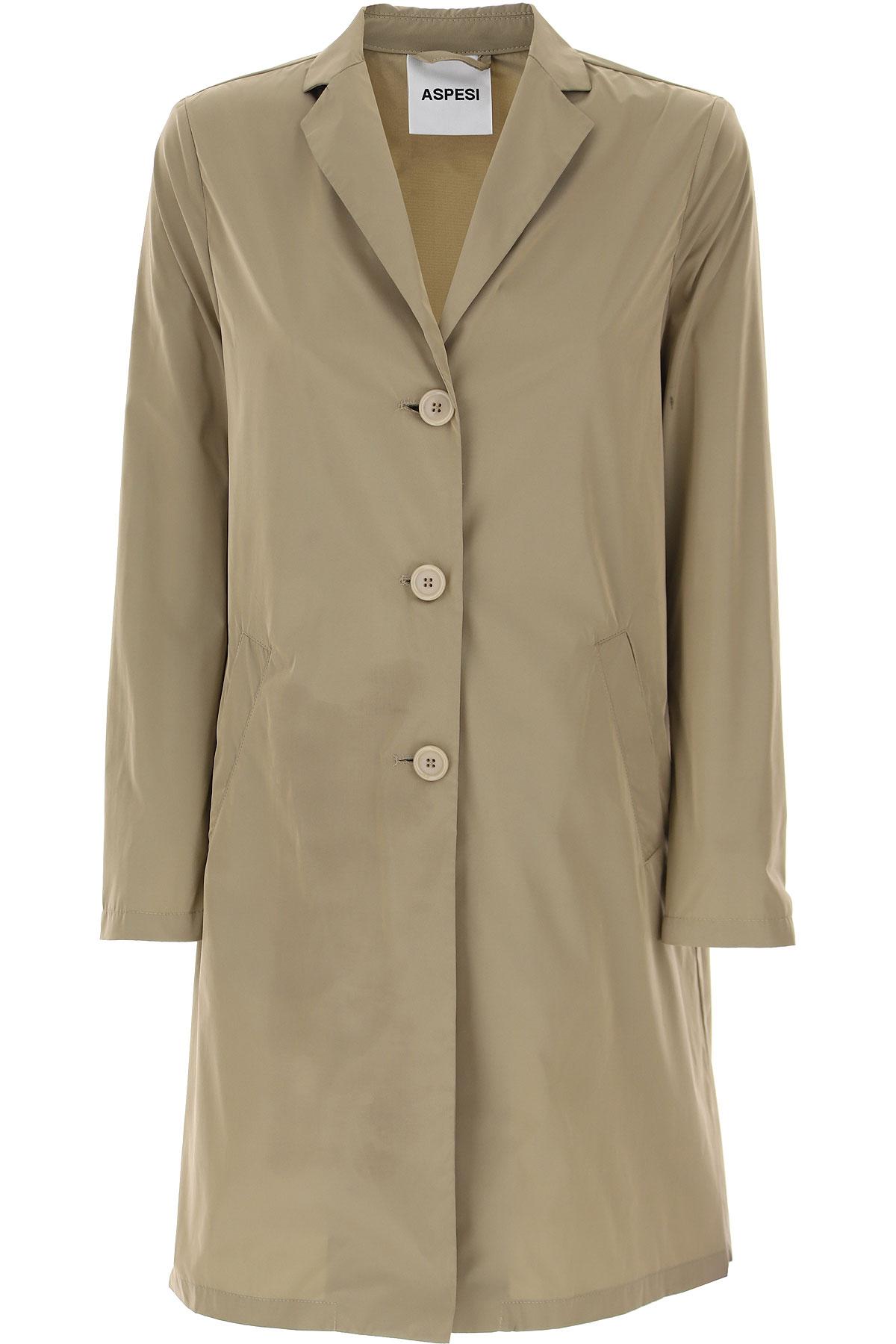 Aspesi Women's Coat On Sale, polyester, 2019, 4 6 8