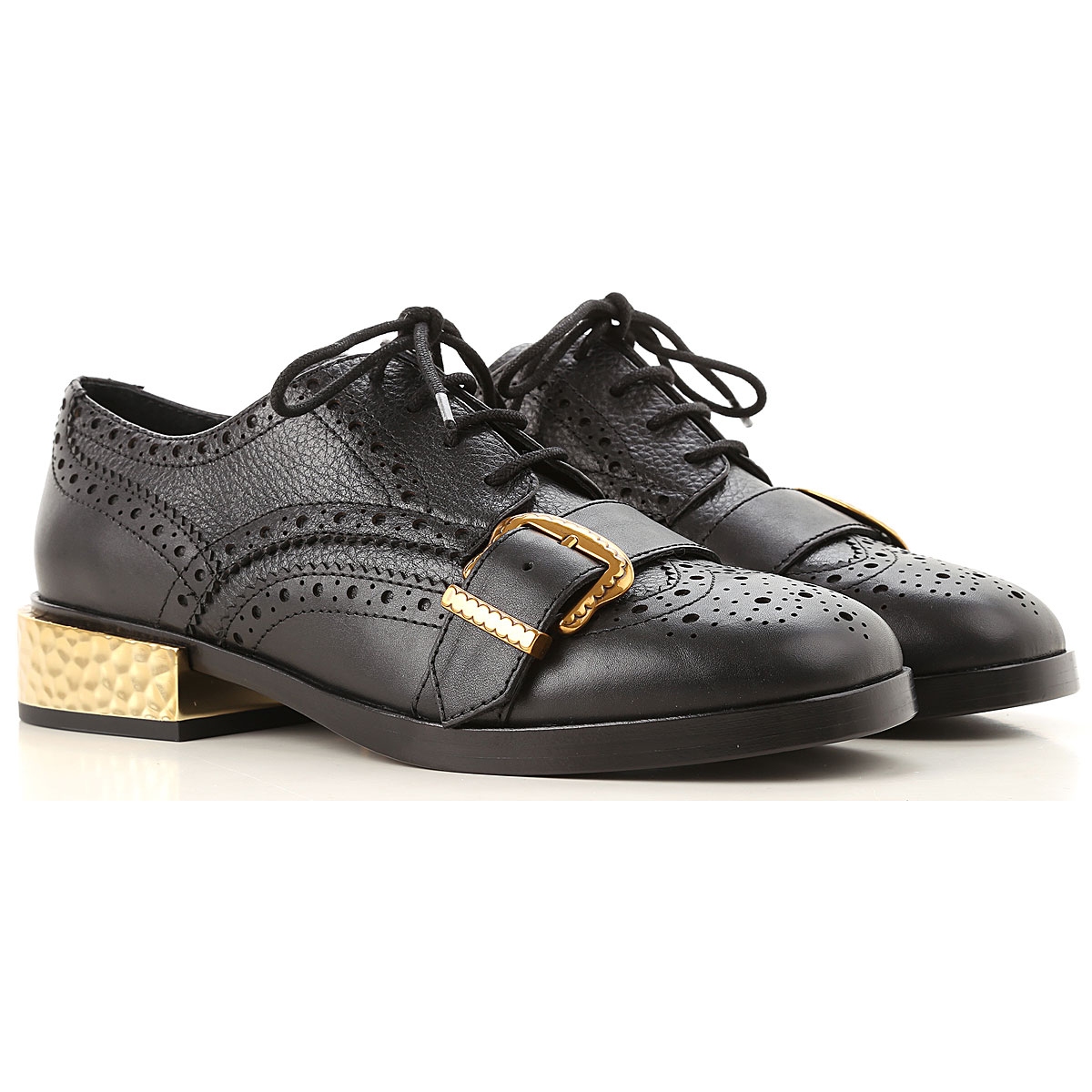 Image of Ash Lace Up Shoes for Men Oxfords, Derbies and Brogues, Black, Leather, 2017, 10 6 7 8 9