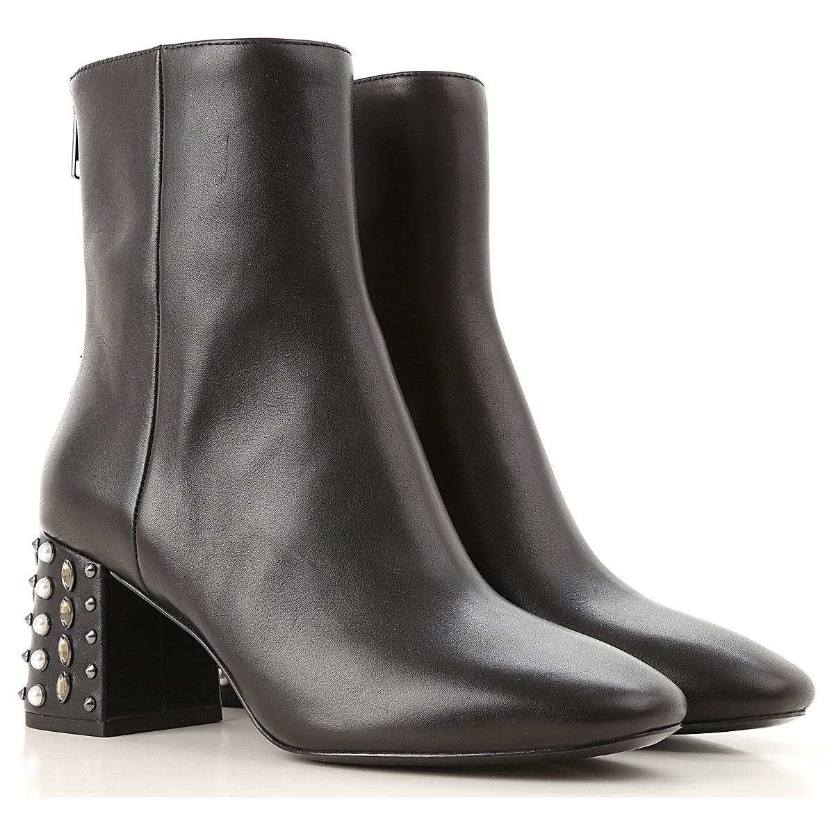 Ash Boots for Women, Booties On Sale, Black, Leather, 2019, 5 6 8