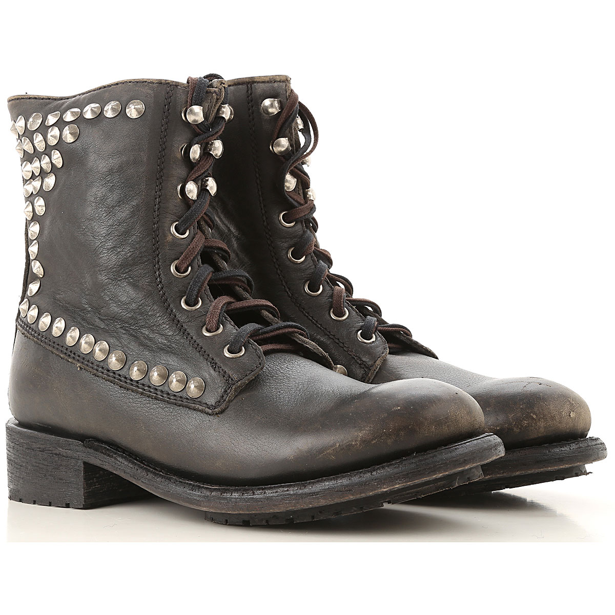 Image of Ash Boots for Women, Booties, Black, Leather, 2017, 10 11 6 7 8 8.5 9.5