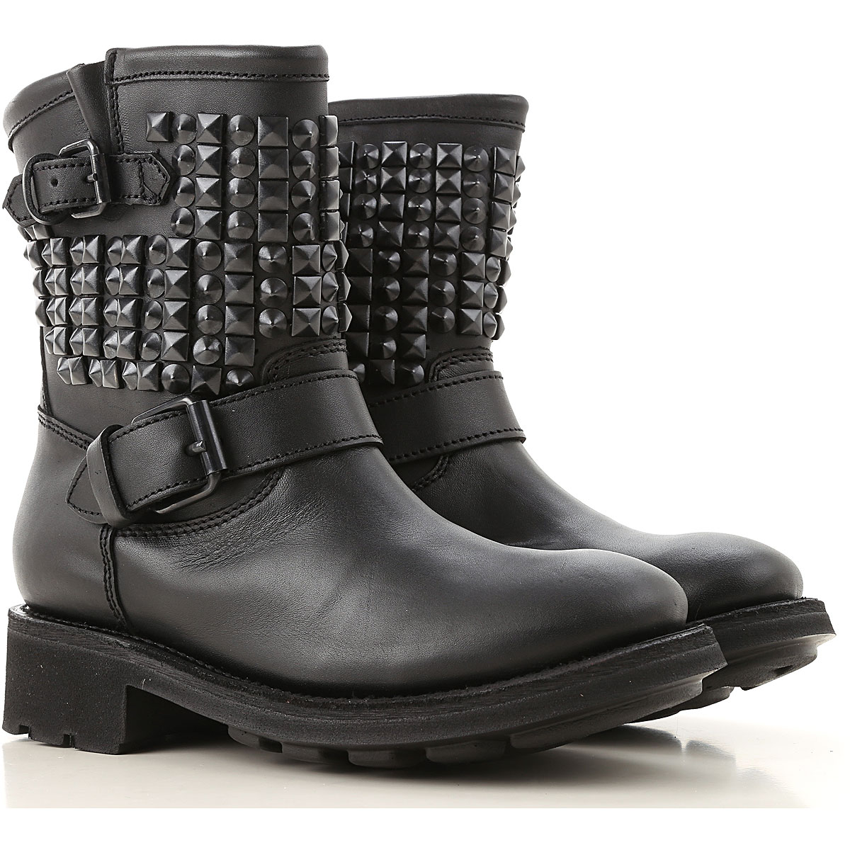 Ash Boots for Women, Booties On Sale, Black, Leather, 2019, 5.5 6 6.5 7 8 8.5 9 9.5